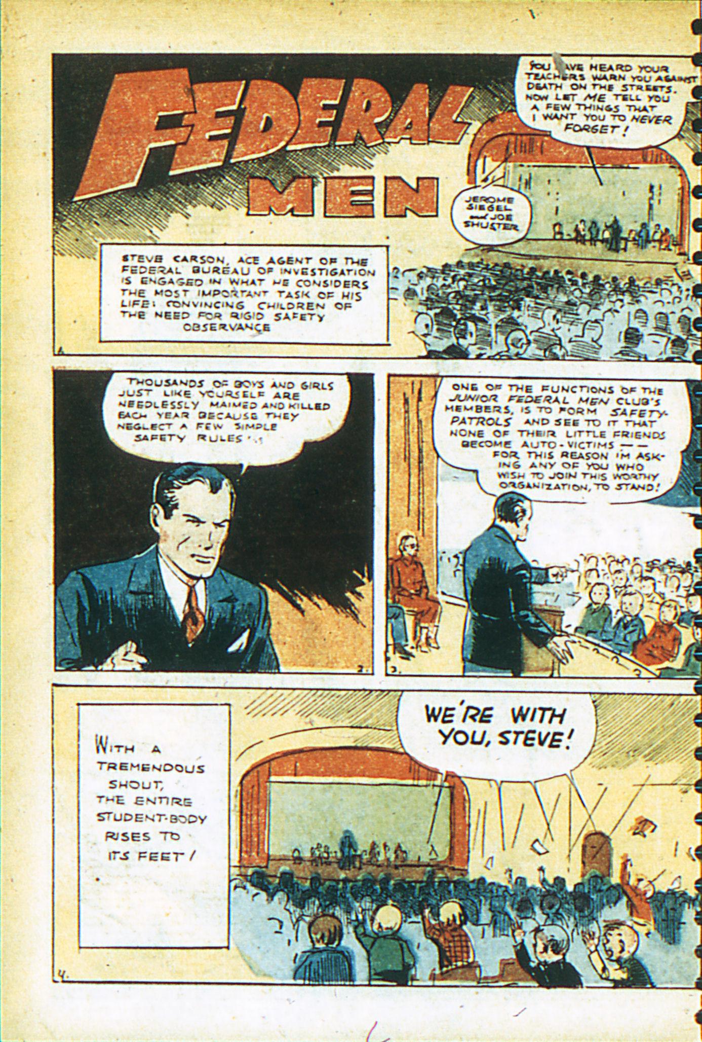 Read online Adventure Comics (1938) comic -  Issue #26 - 7