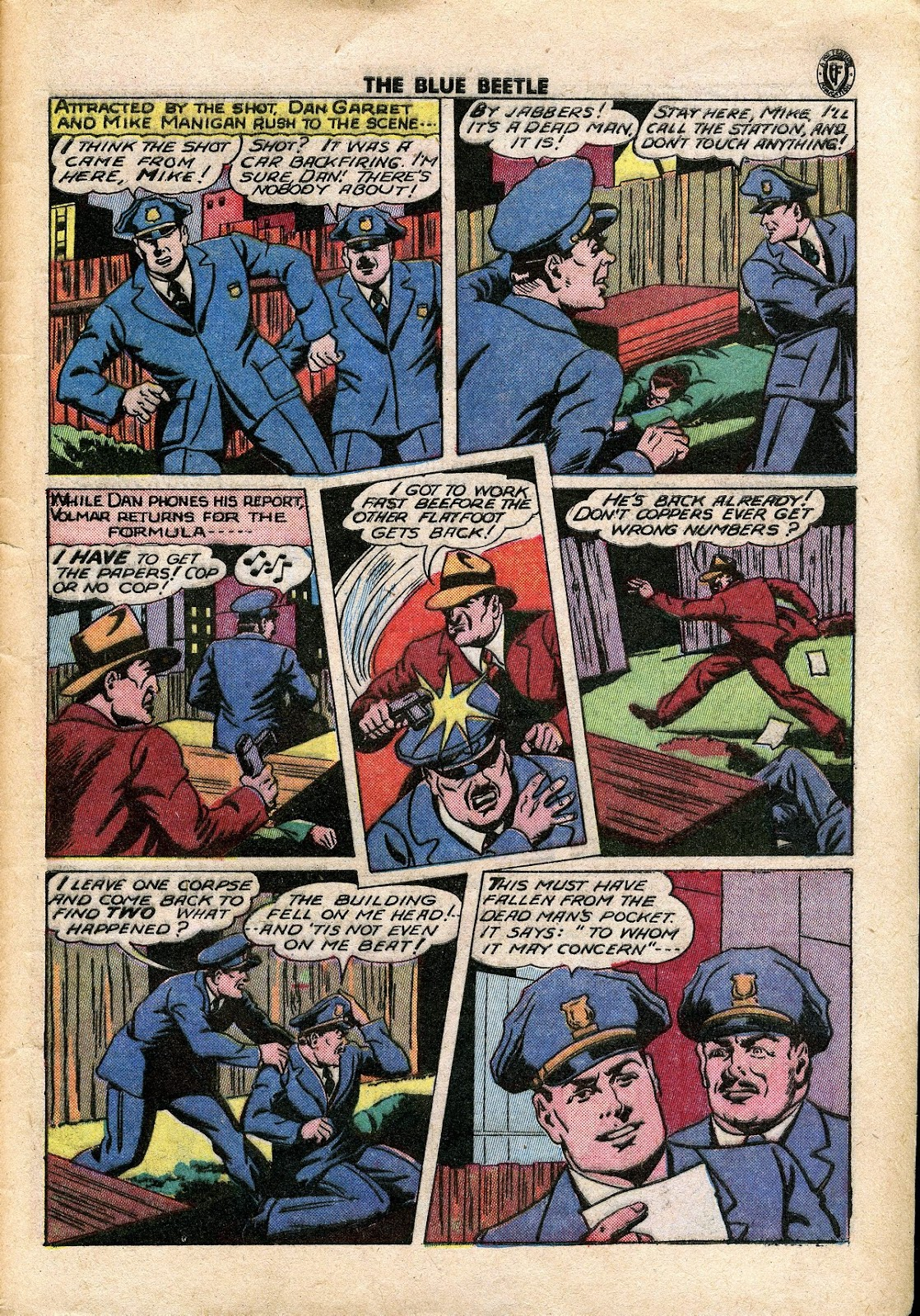 The Blue Beetle issue 34 - Page 36