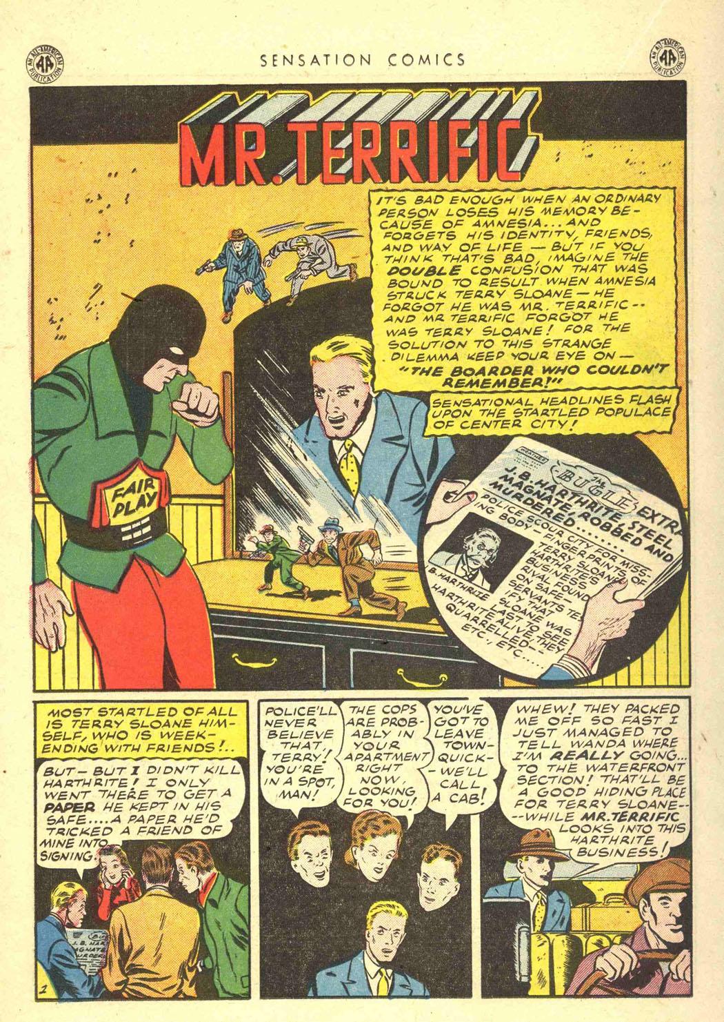 Read online Sensation (Mystery) Comics comic -  Issue #39 - 30