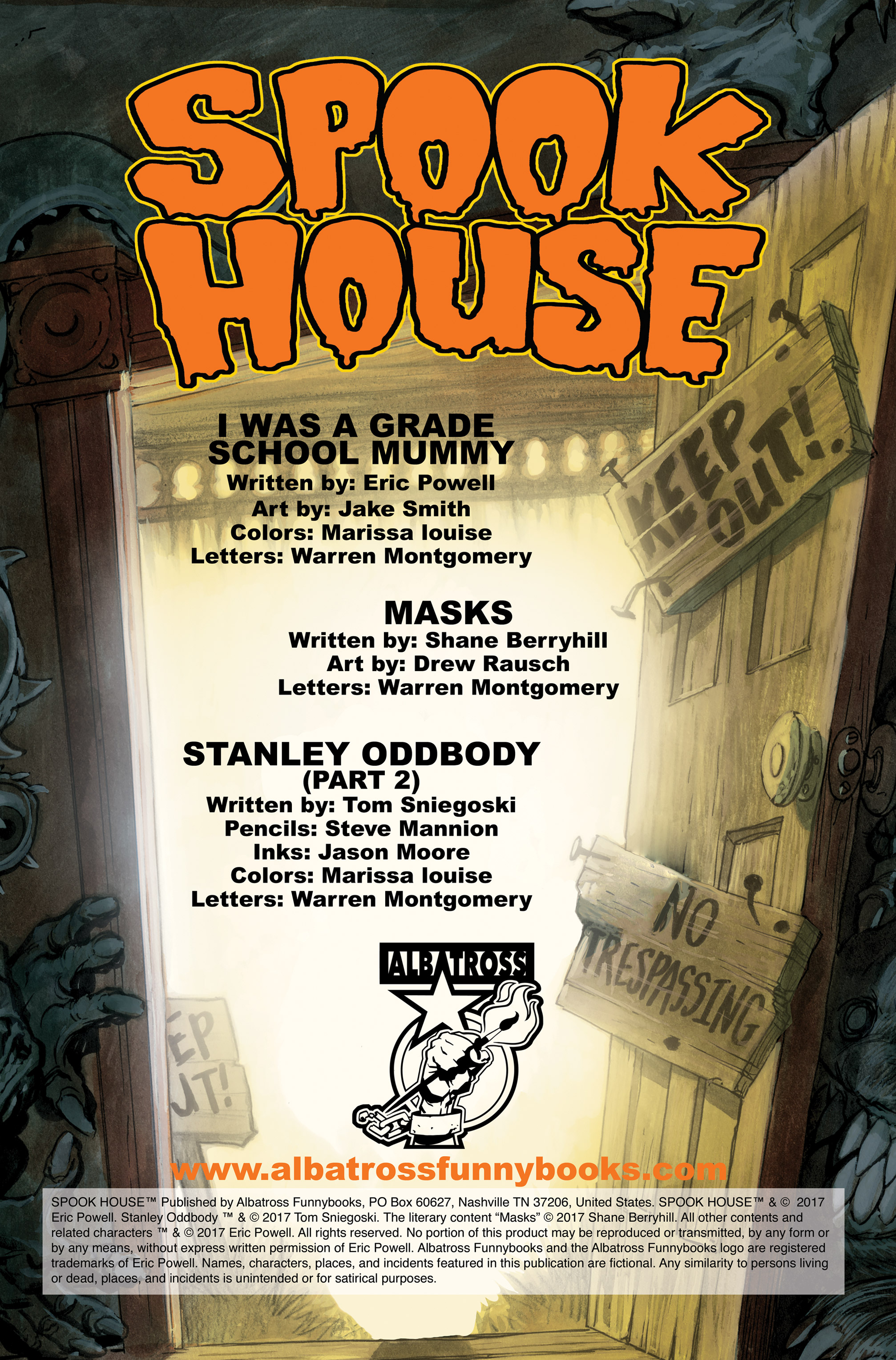 Read online Spook House comic -  Issue #5 - 2