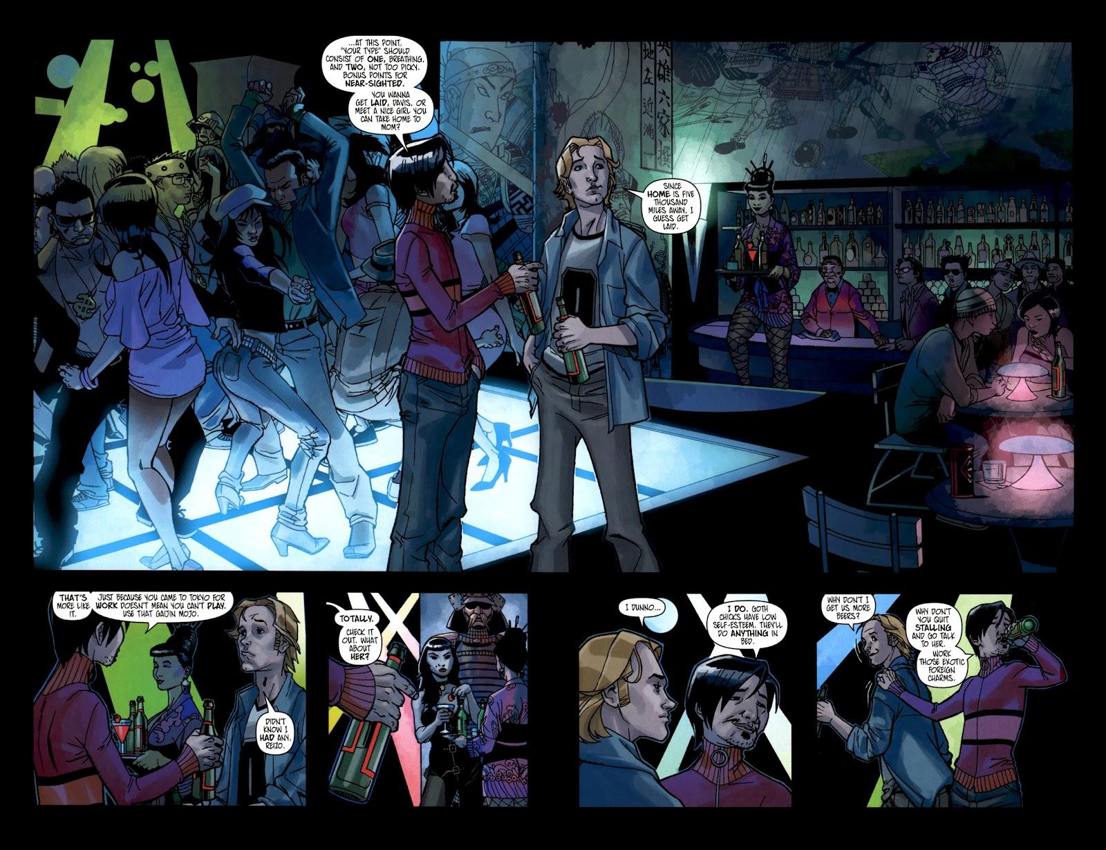 Read online Shinku comic -  Issue #1 - 4