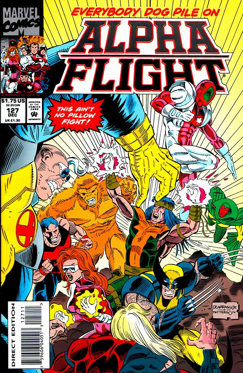 Read online Alpha Flight (1983) comic -  Issue #127 - 1