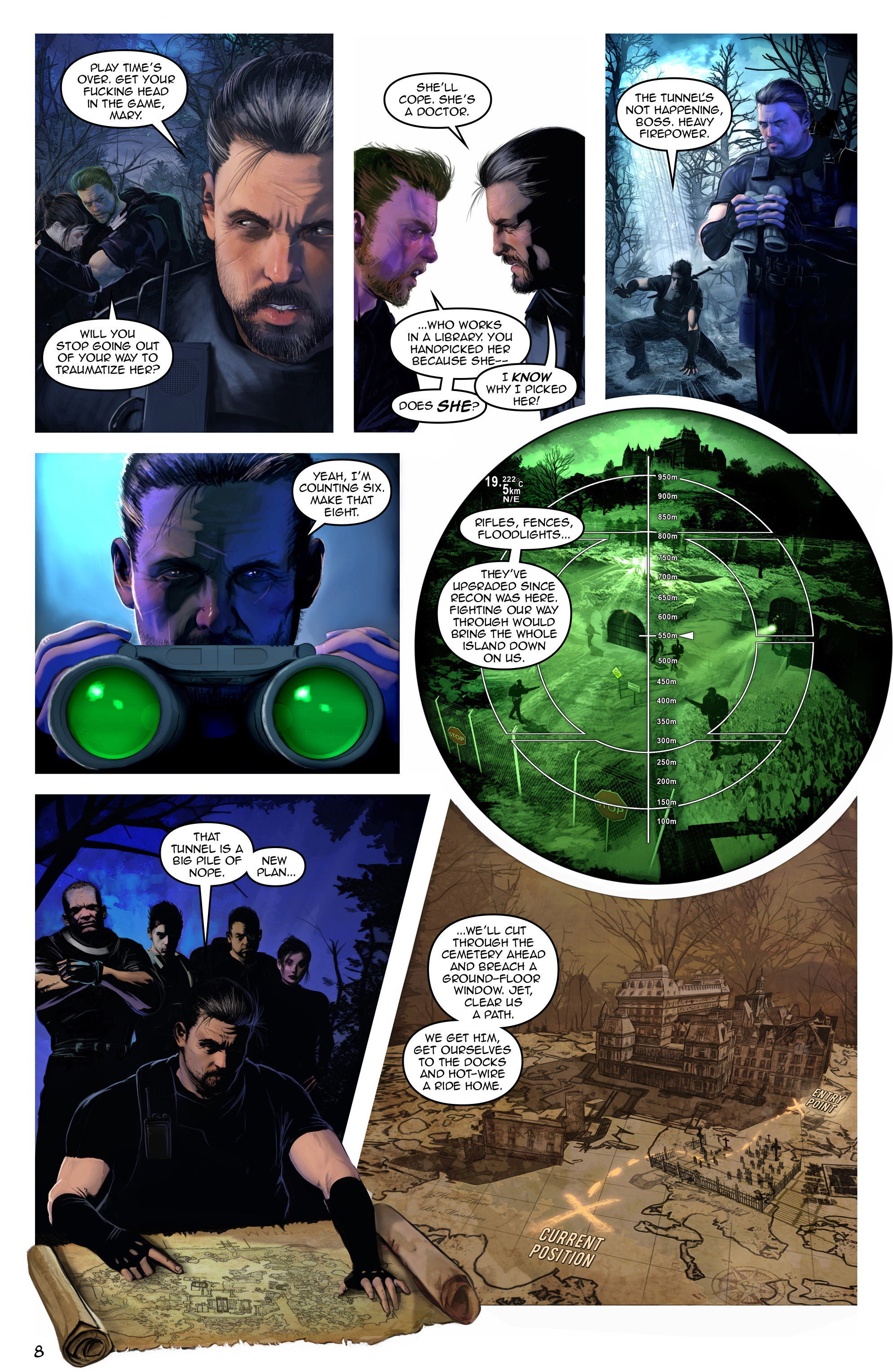Read online Escape from Jesus Island comic -  Issue #3 - 8