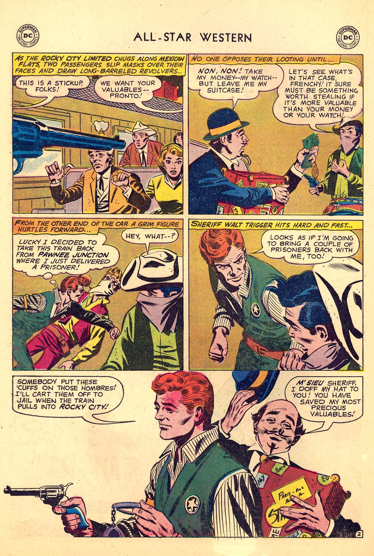 Read online All-Star Western (1951) comic -  Issue #110 - 26