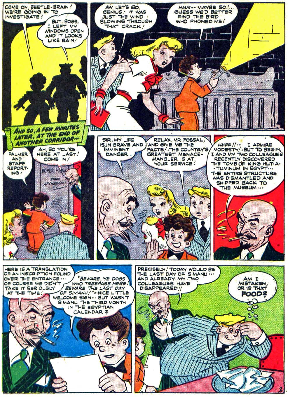 Star Spangled Comics (1941) issue 27 - Page 34