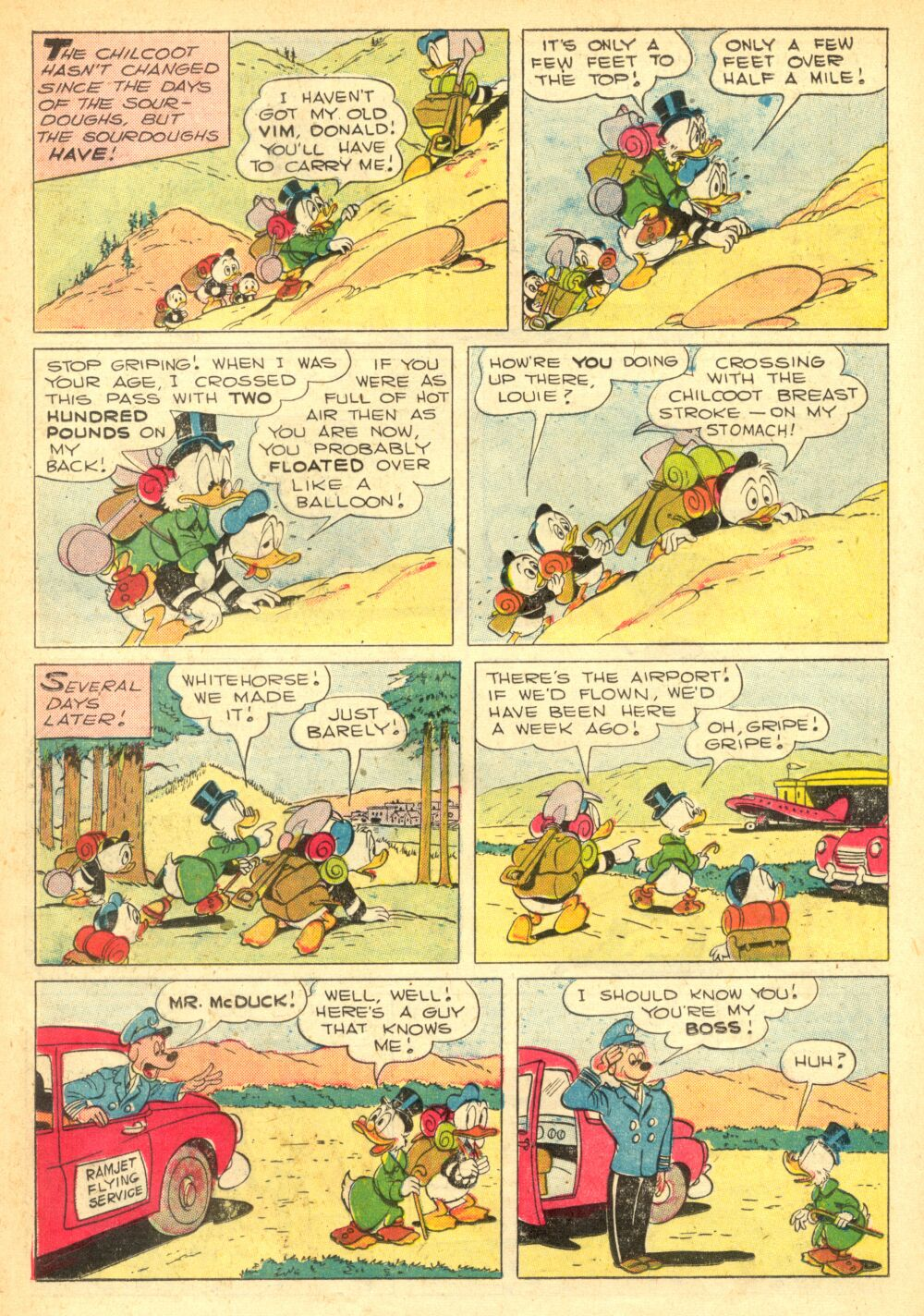 Read online Uncle Scrooge (1953) comic -  Issue #2 - 11