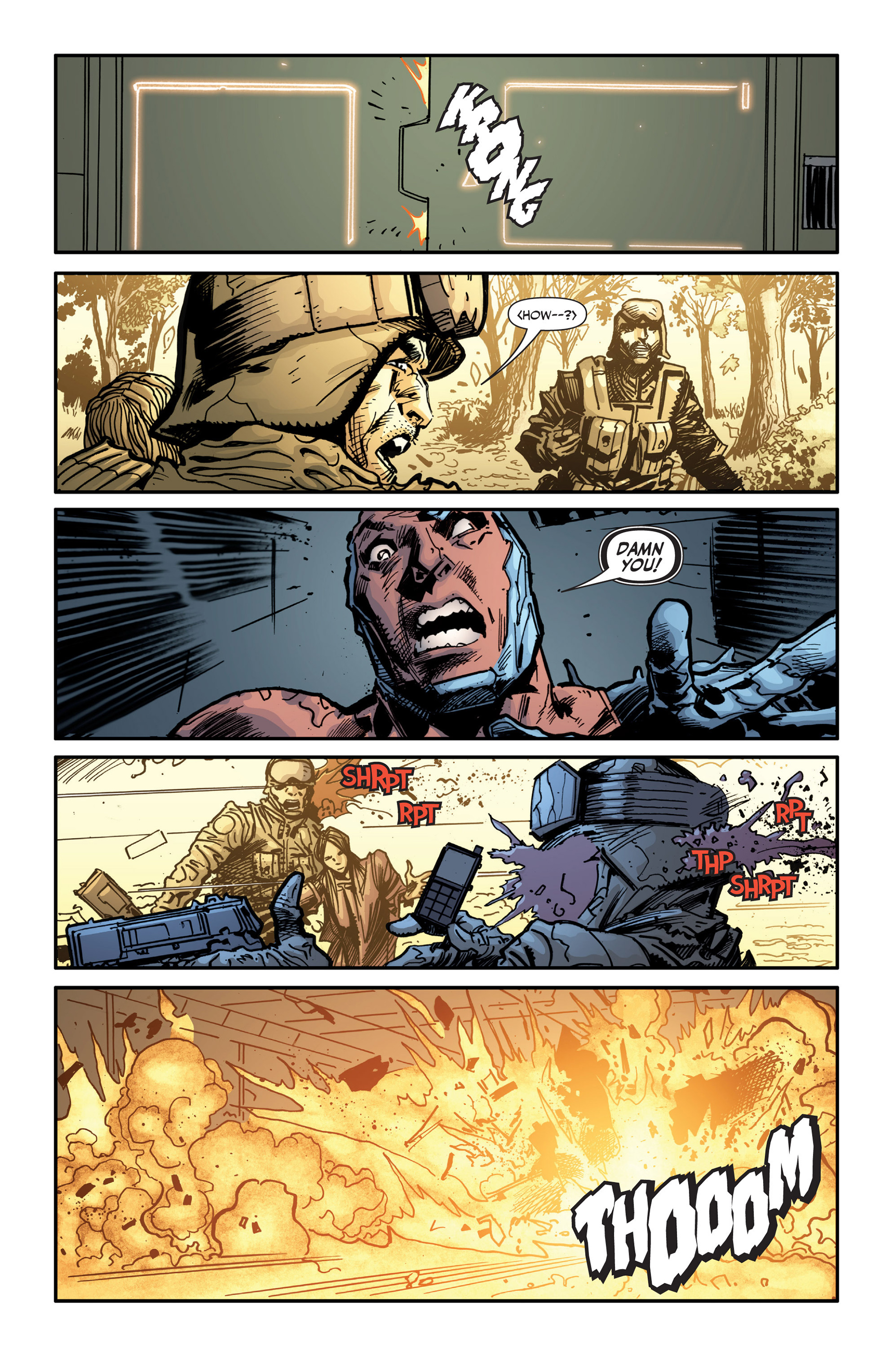 Read online Armor Hunters: Bloodshot comic -  Issue #3 - 22