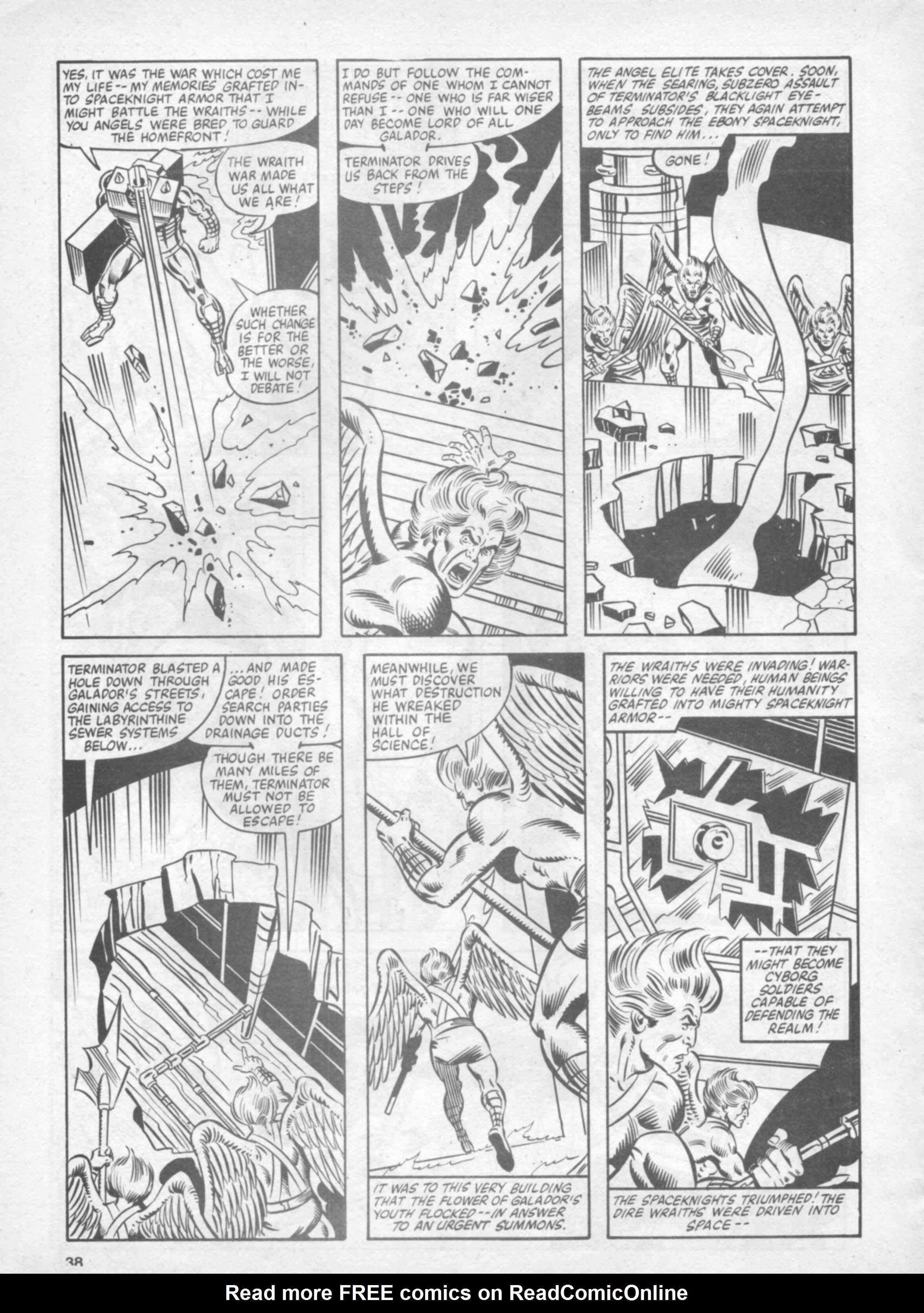 Read online Future Tense comic -  Issue #37 - 38