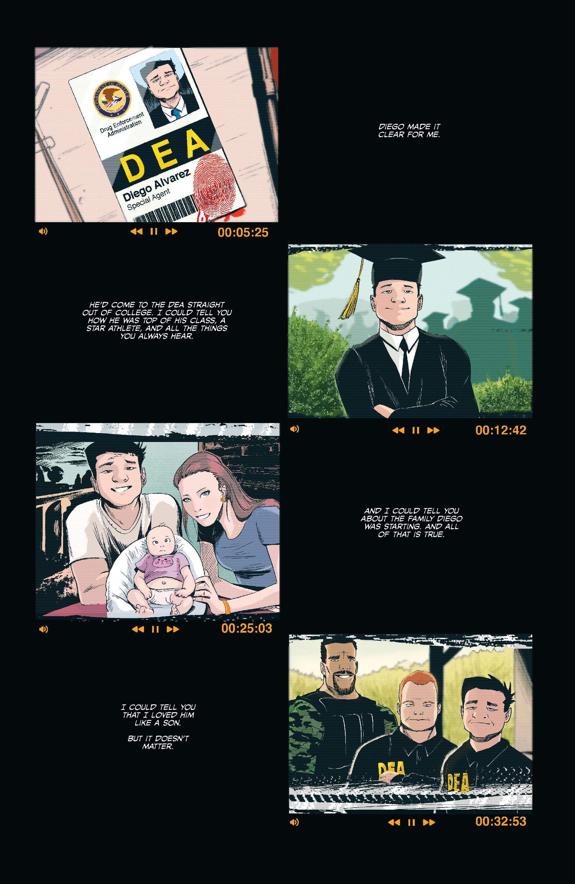 Read online Sombra comic -  Issue #1 - 4