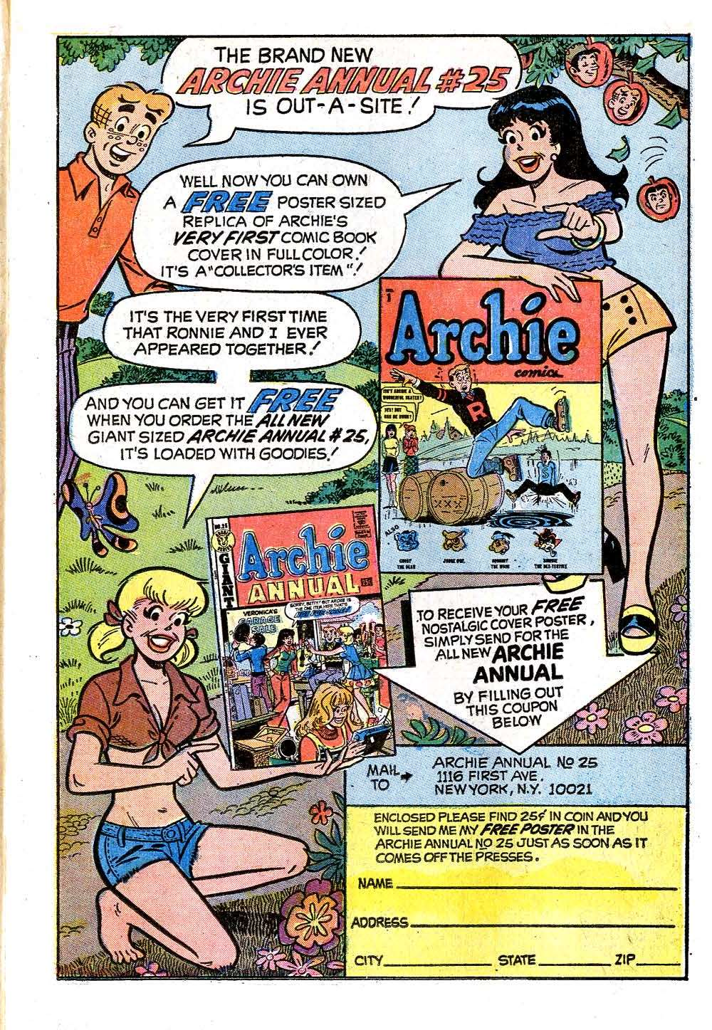 Read online Archie (1960) comic -  Issue #227 - 11