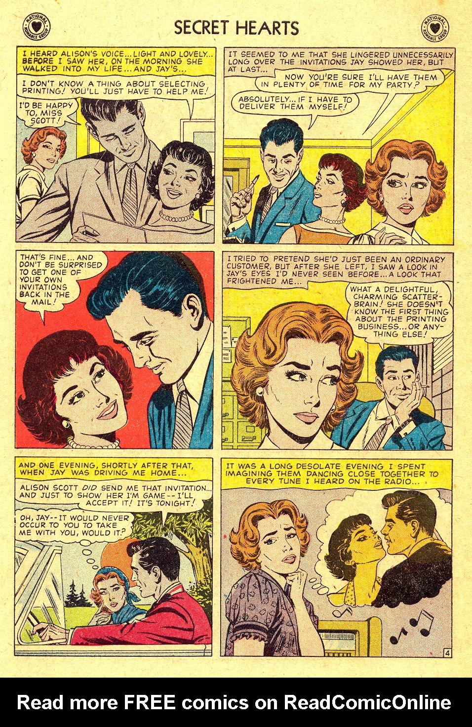Read online Secret Hearts comic -  Issue #45 - 6