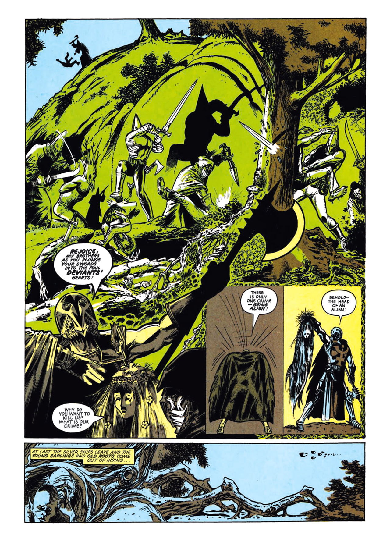Read online Nemesis The Warlock comic -  Issue # TPB Deviant Edition - 23
