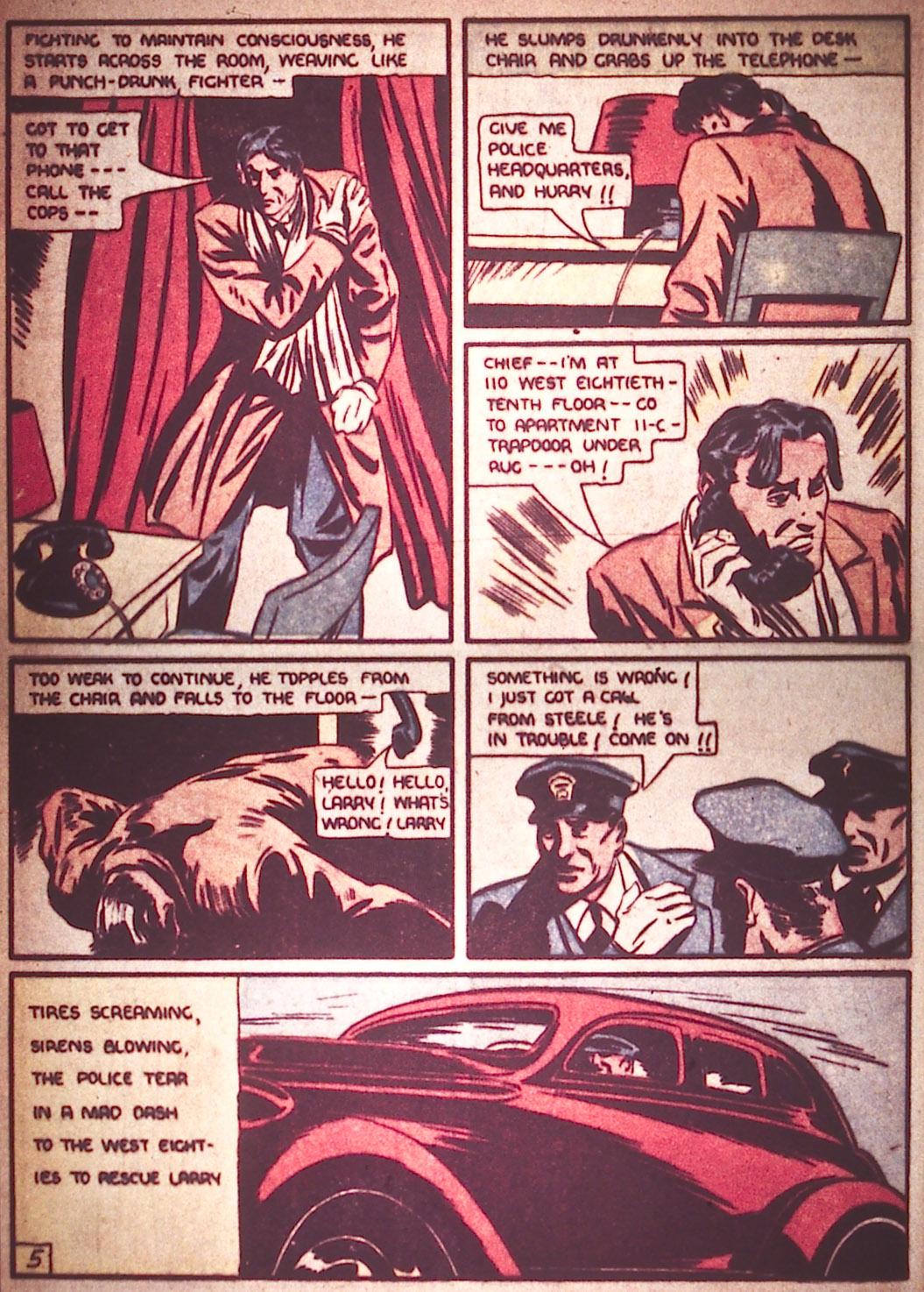 Read online Detective Comics (1937) comic -  Issue #12 - 14