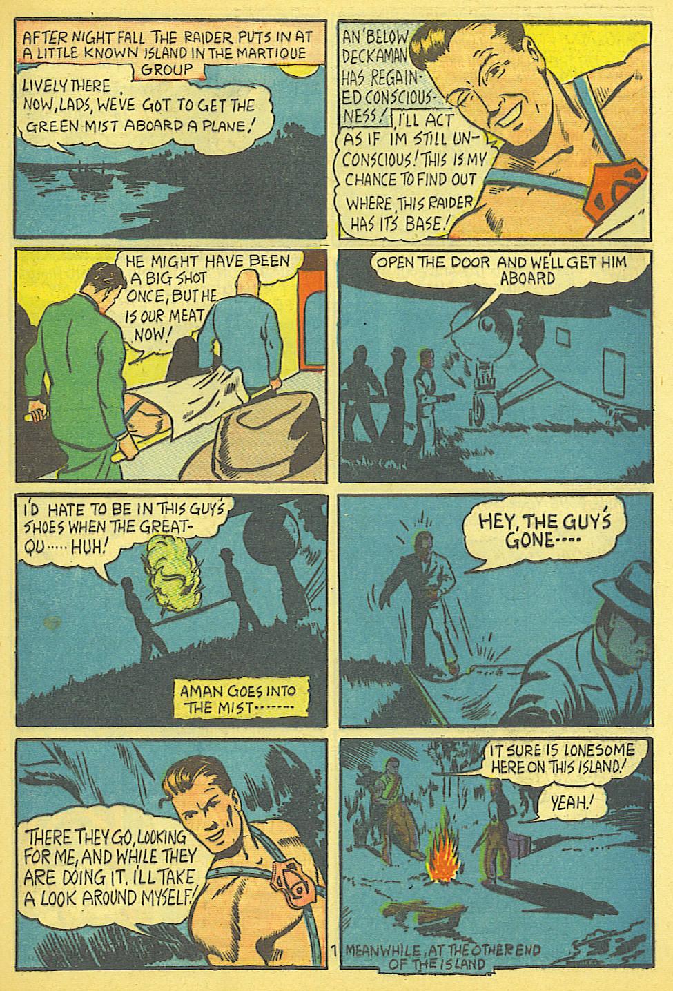 Read online Amazing Man Comics comic -  Issue #19 - 9