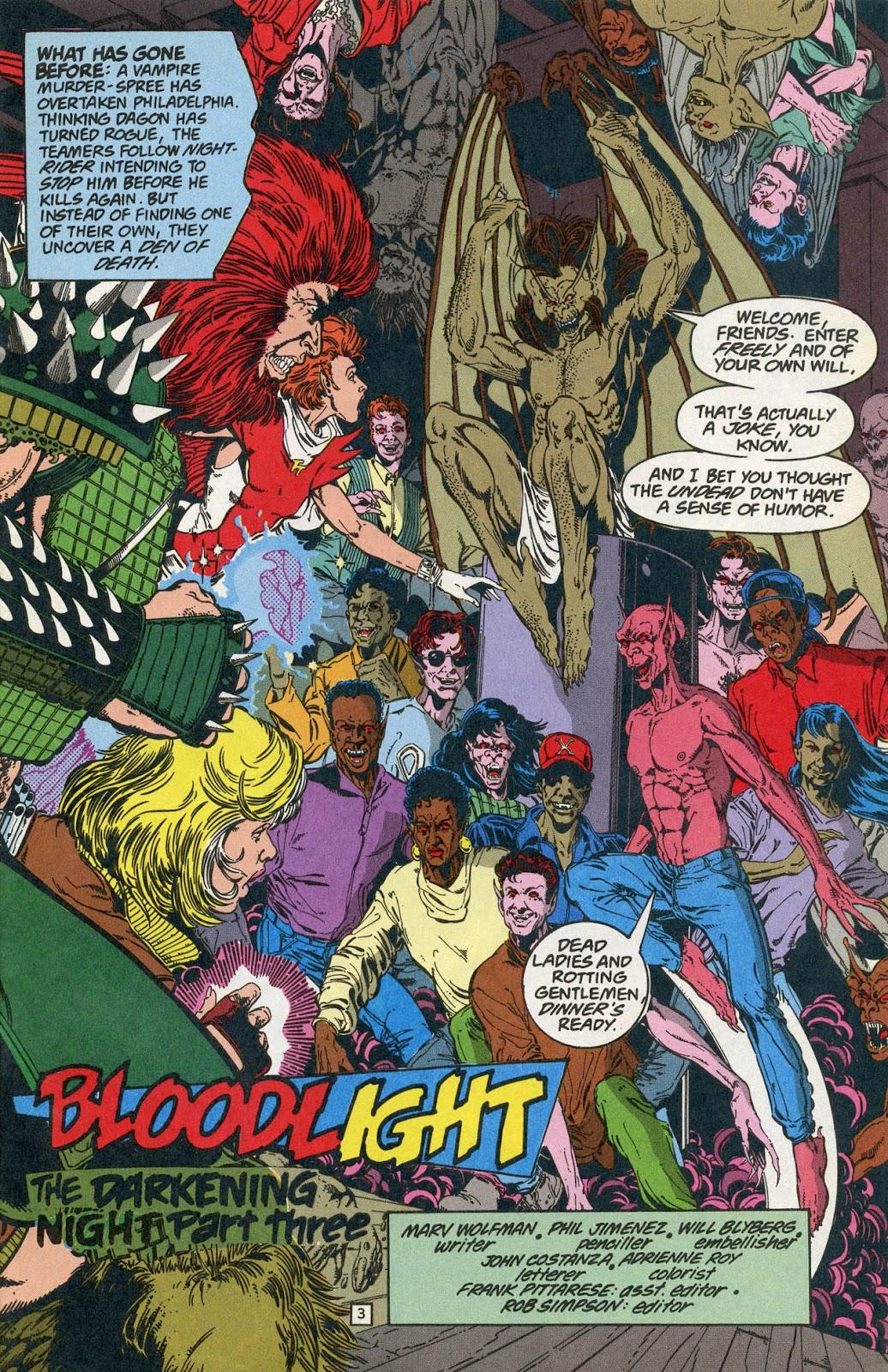 Comic Team Titans issue 9