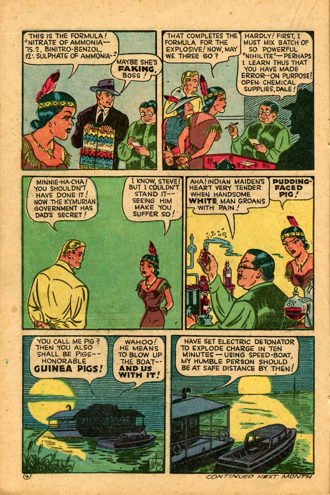 Read online Famous Funnies comic -  Issue #136 - 16