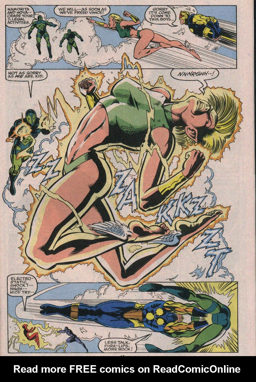 The New Warriors Issue #26 #30 - English 16
