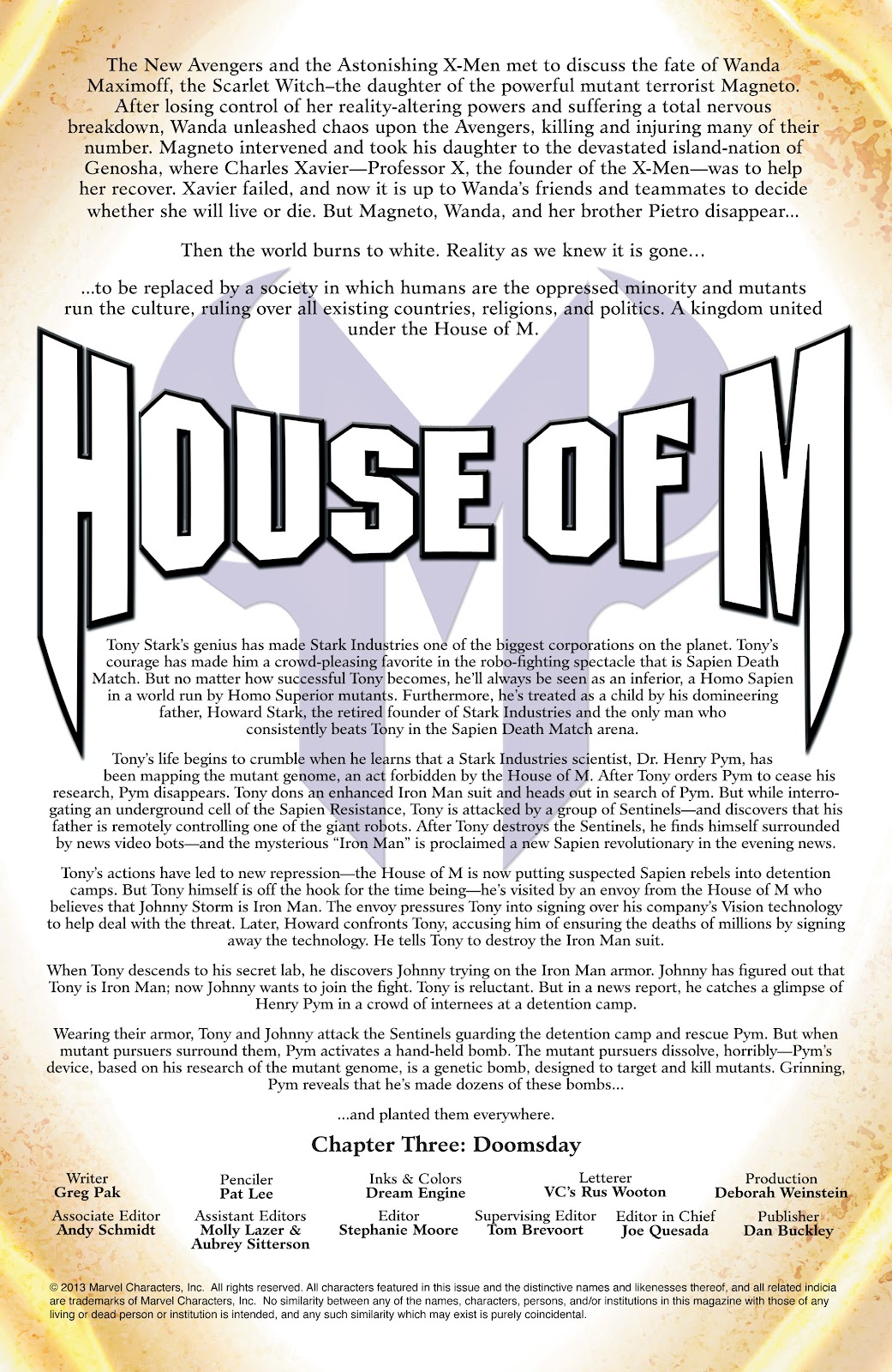 Iron Man: House of M Issue #3 #3 - English 2