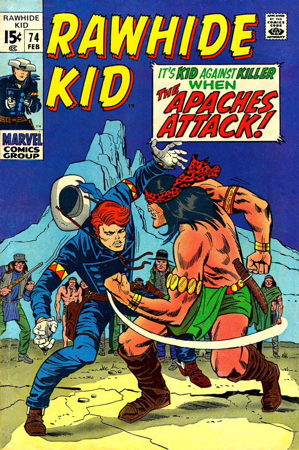 The Rawhide Kid (1955) issue 74 - Page 1