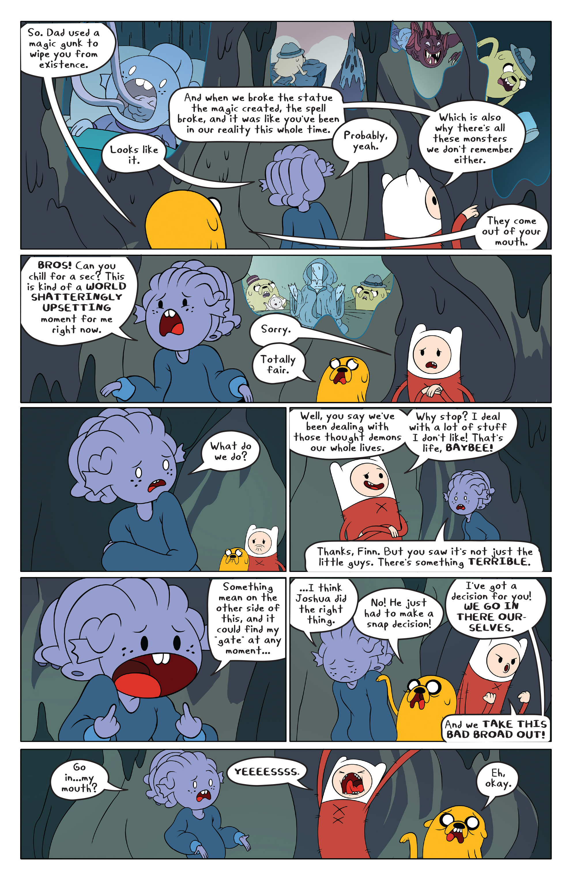 Read online Adventure Time comic -  Issue #49 - 3