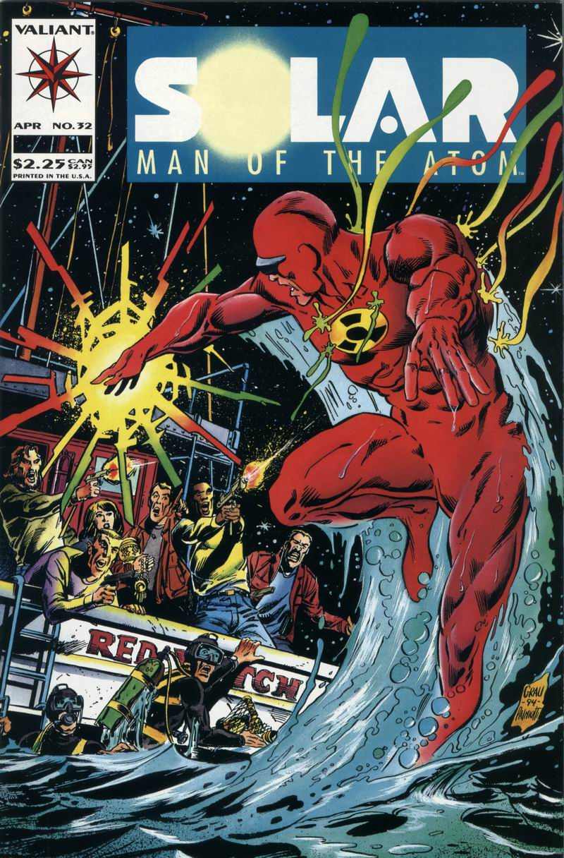 Read online Solar, Man of the Atom comic -  Issue #32 - 1