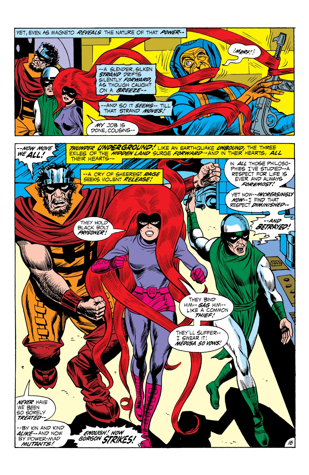 Read online Marvel Masterworks: The Inhumans comic -  Issue # TPB 1 (Part 2) - 73