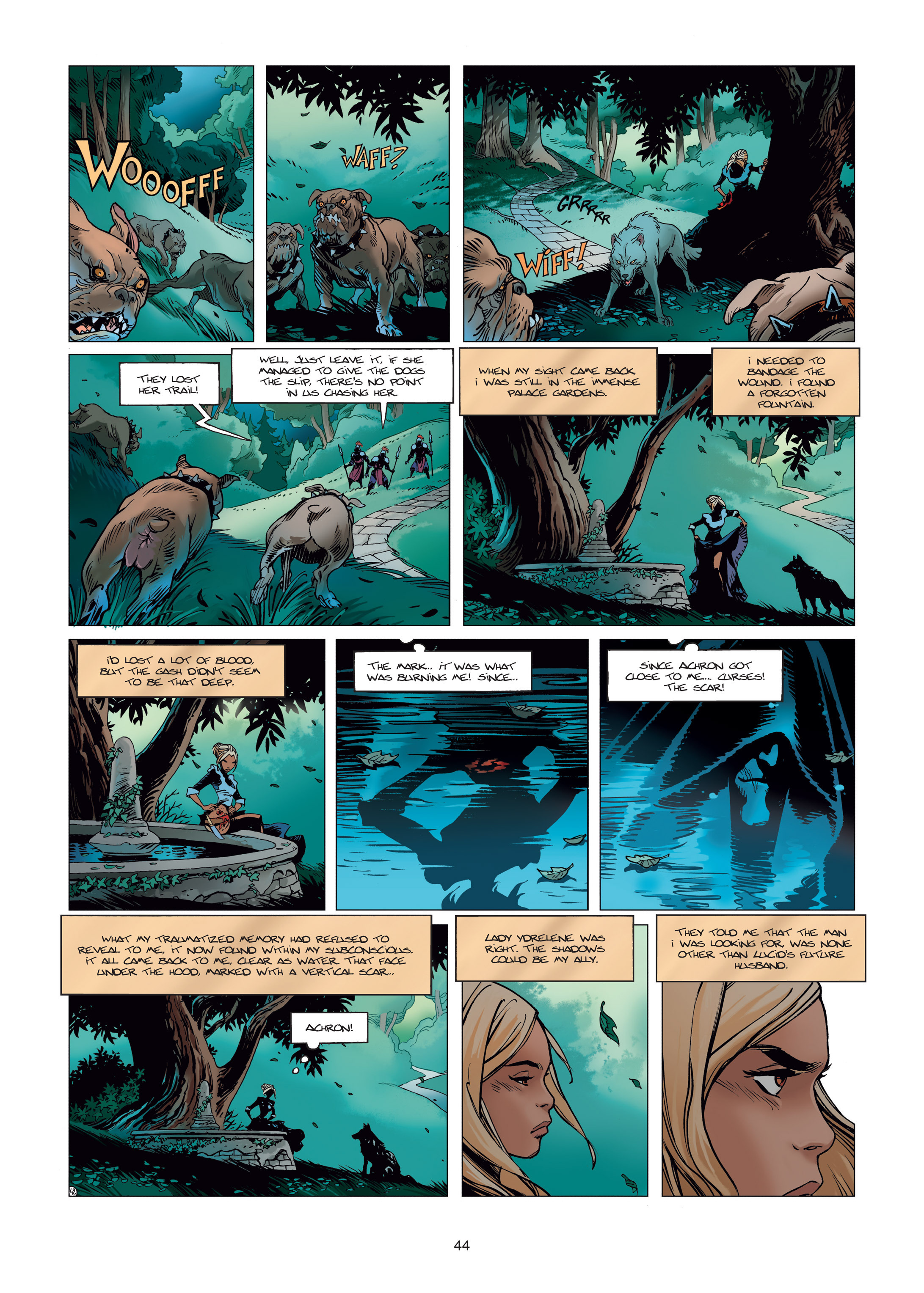 Read online Sangre Vol. 1: Sangre the Survivor comic -  Issue # Full - 44