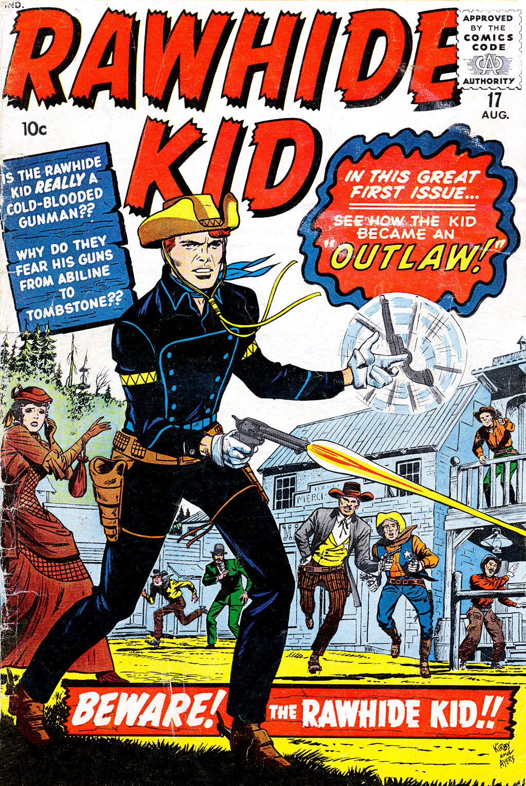 The Rawhide Kid (1955) issue 17 - Page 1