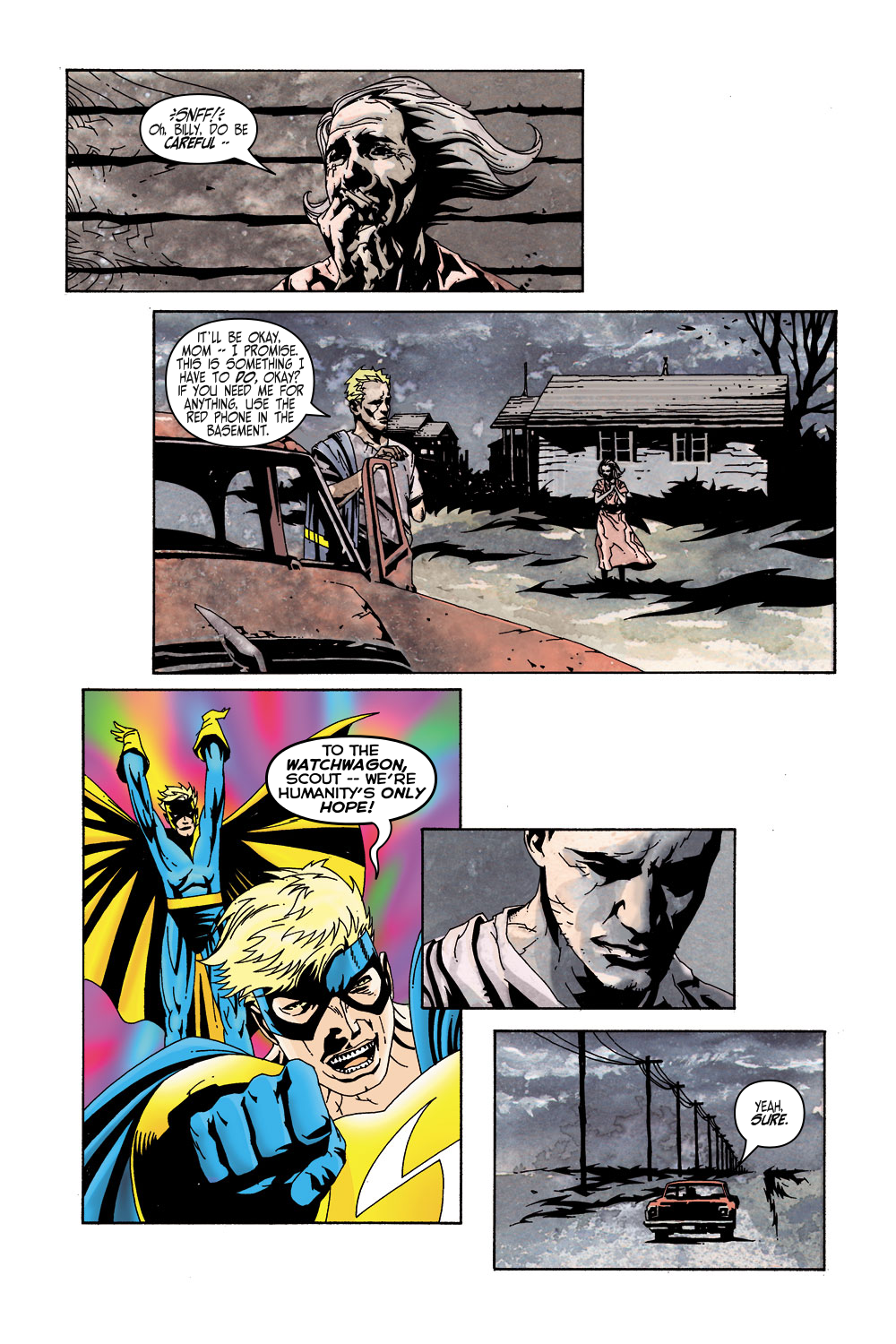 Read online Sentry (2000) comic -  Issue #5 - 10
