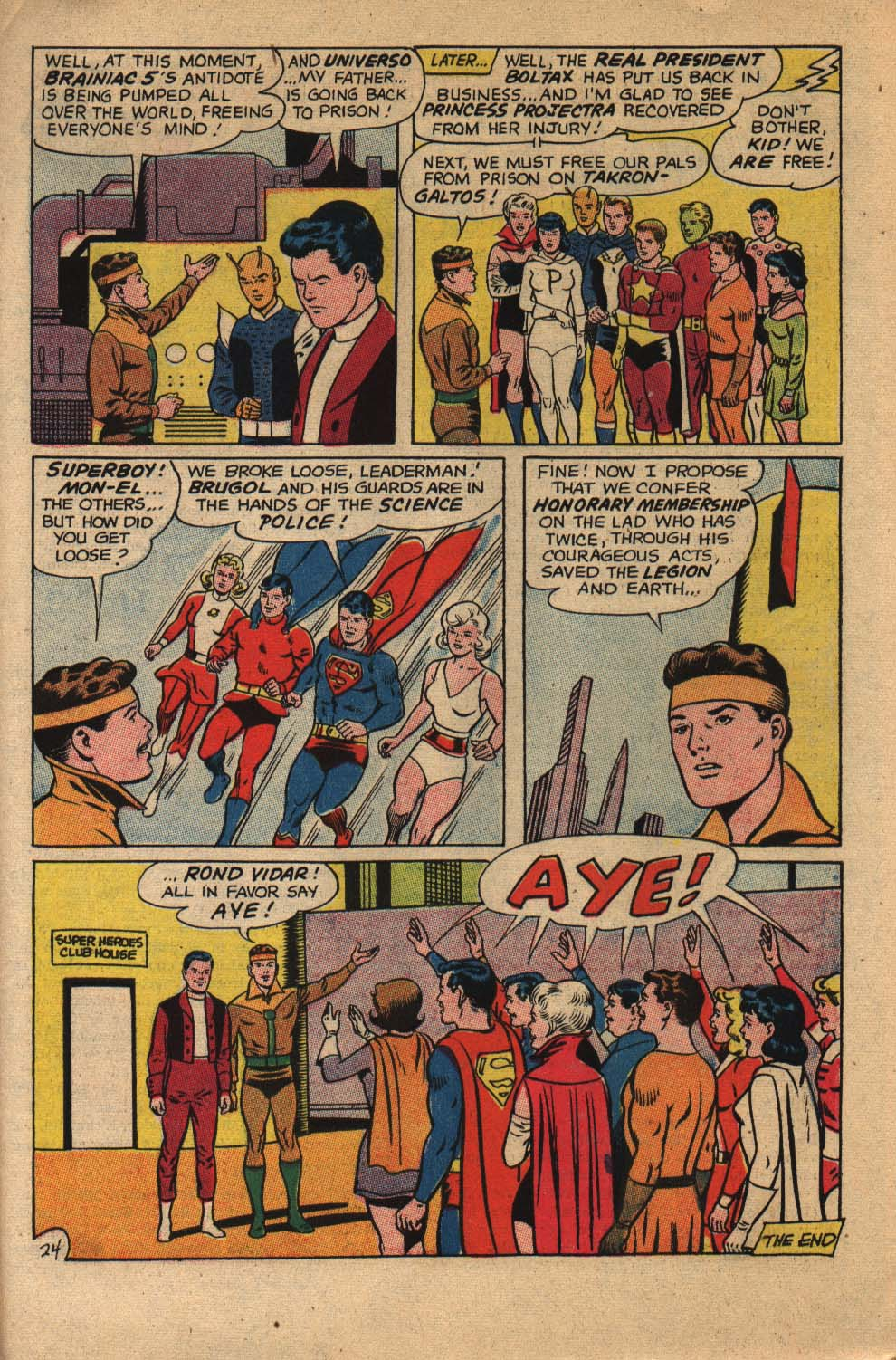 Read online Adventure Comics (1938) comic -  Issue #360 - 31