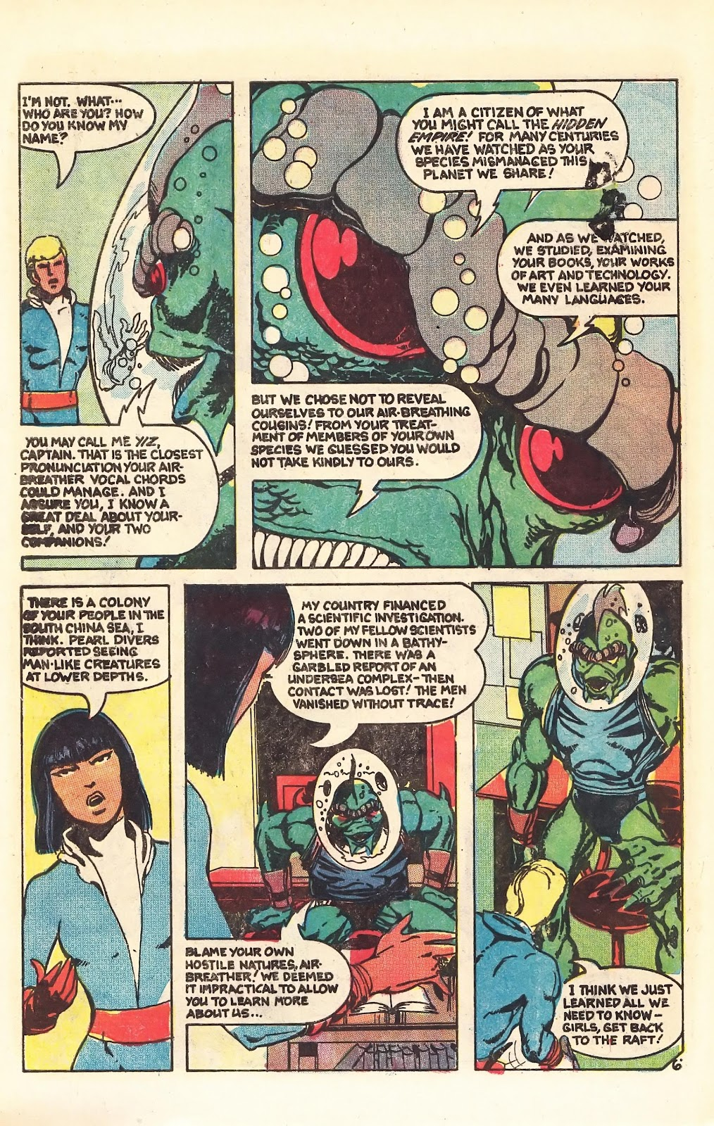 Read online Doomsday   1 (1975) comic -  Issue #4 - 9