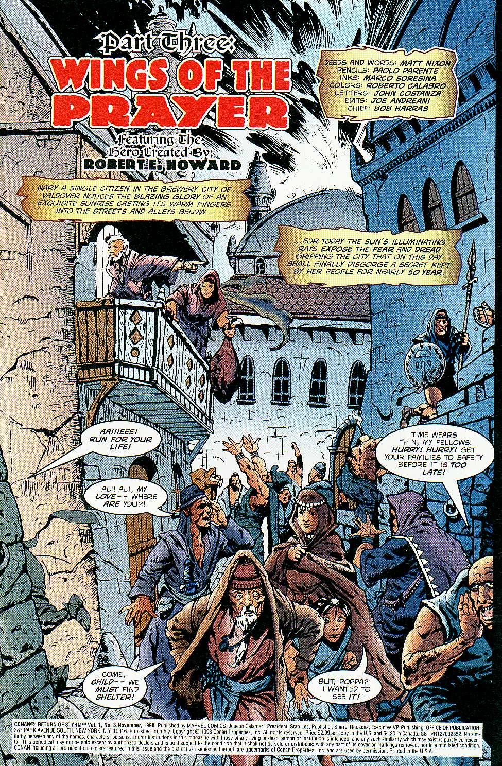Read online Conan: Return of Styrm comic -  Issue #3 - 4