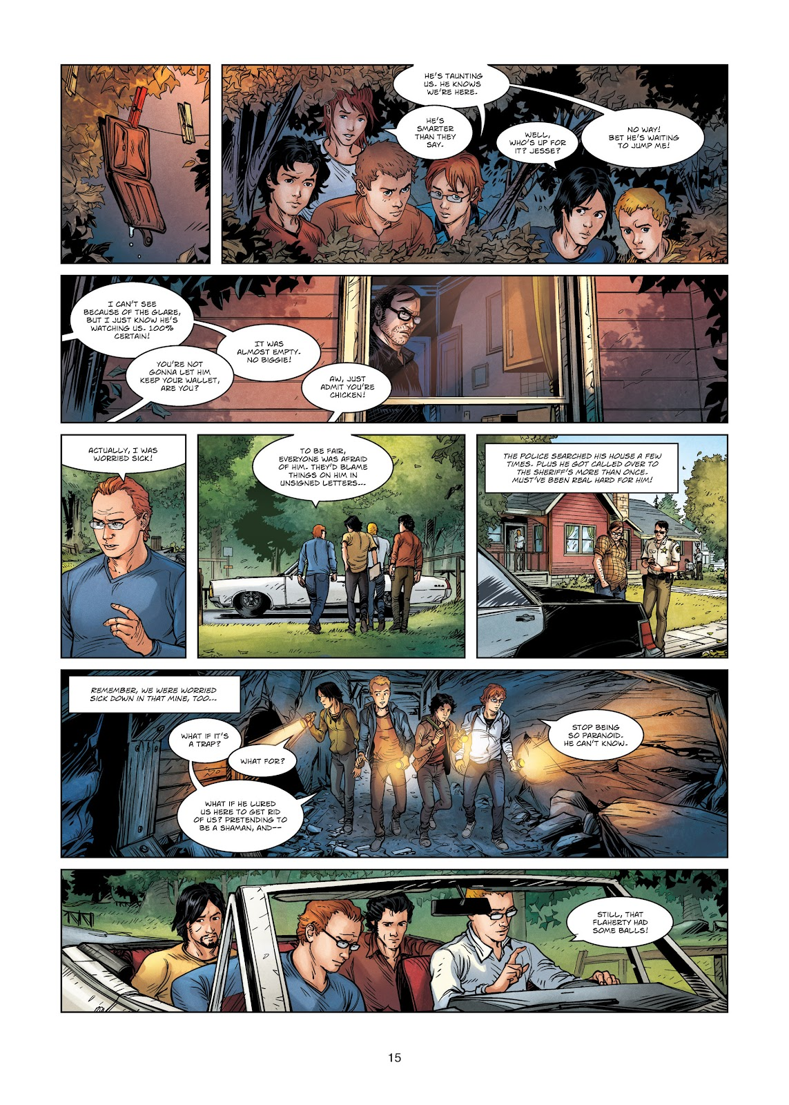 Read online Vigilantes comic -  Issue #3 - 15