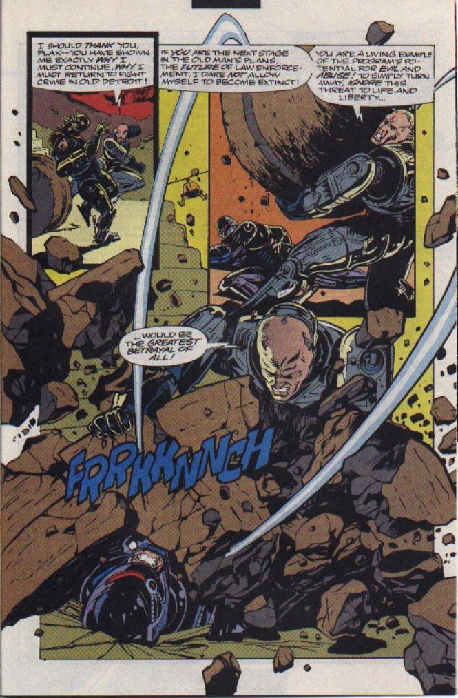 Read online Robocop (1990) comic -  Issue #23 - 20