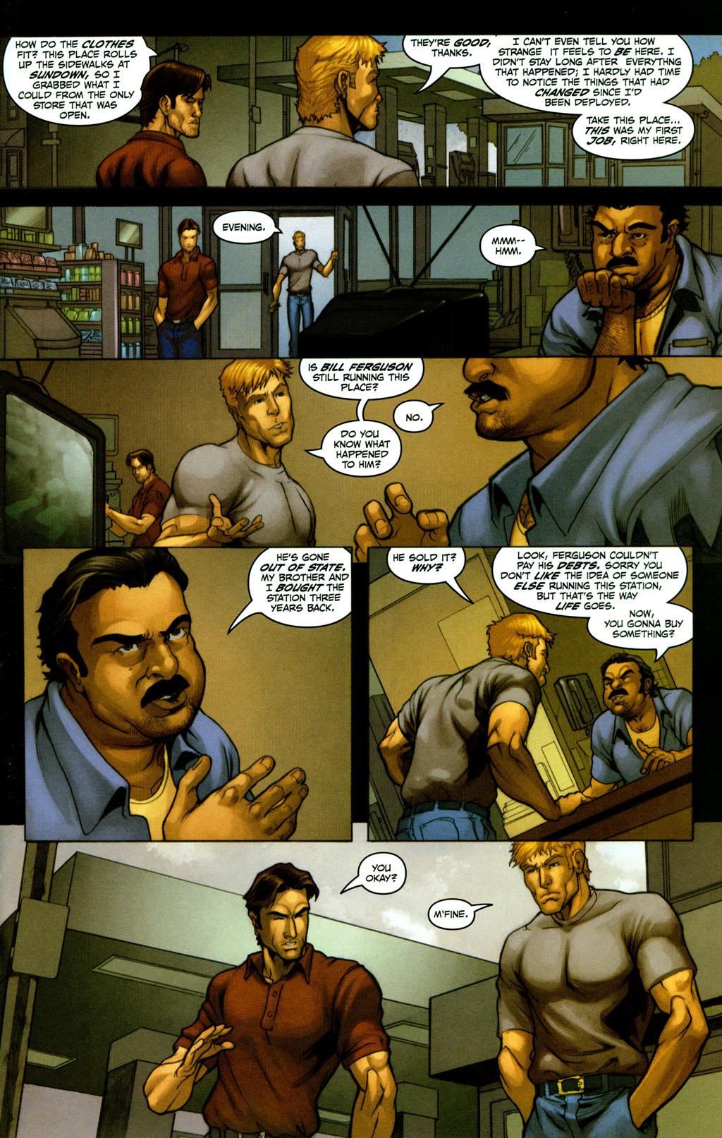 Read online Snake Eyes: Declassified comic -  Issue #2 - 11