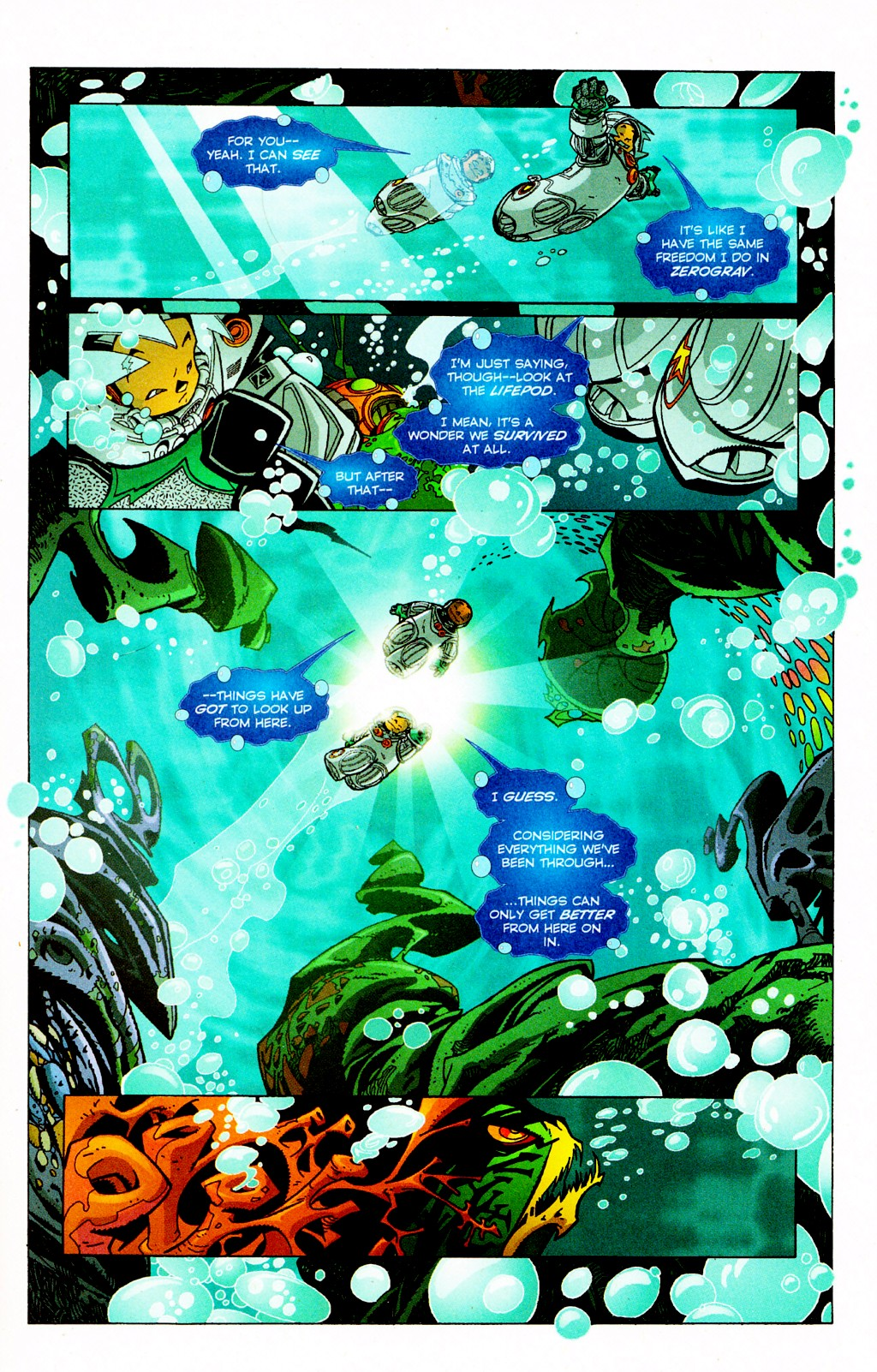 Read online Monster World (Existed) comic -  Issue #2 - 6
