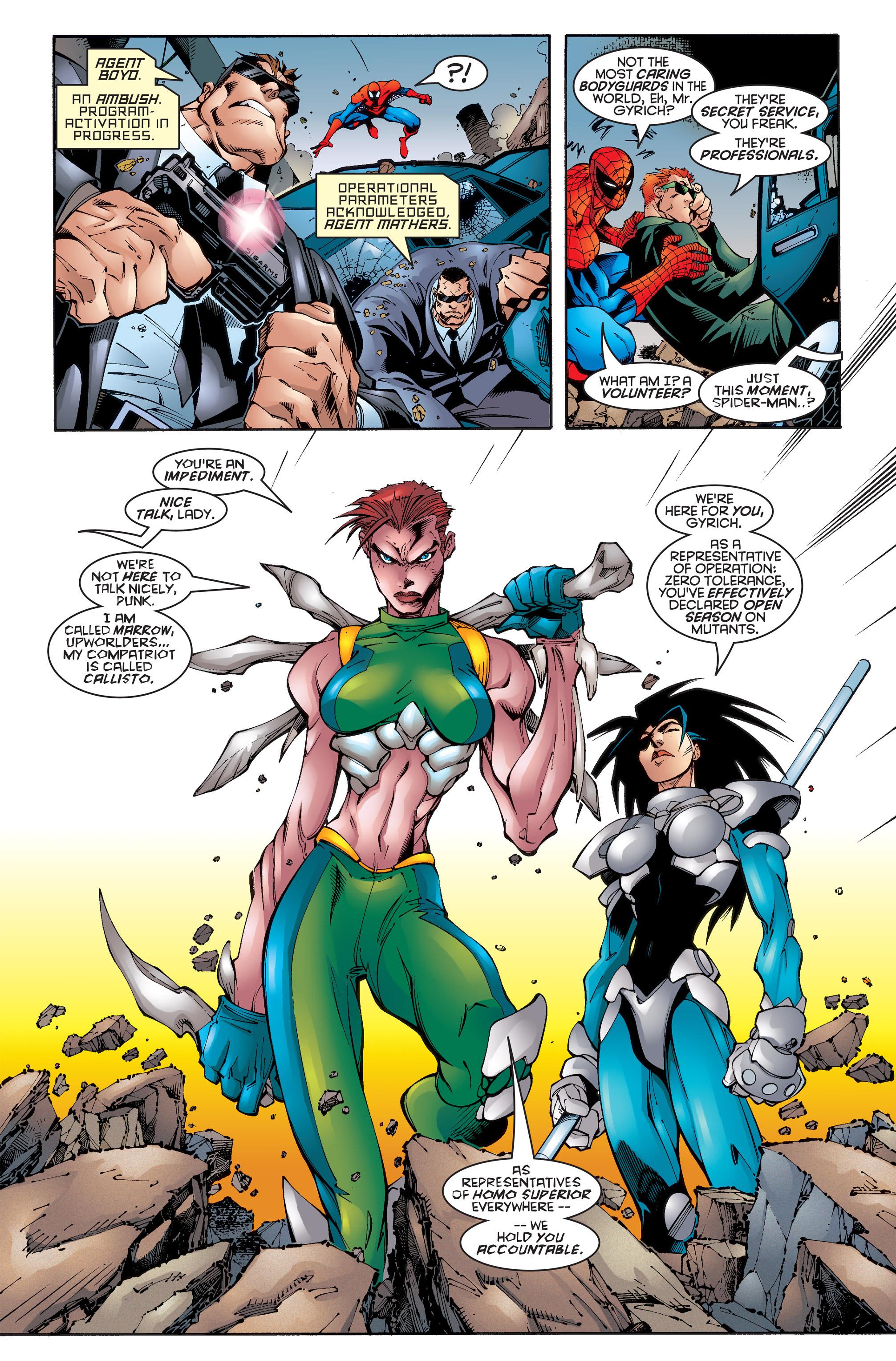 Read online Uncanny X-Men (1963) comic -  Issue #346 - 8