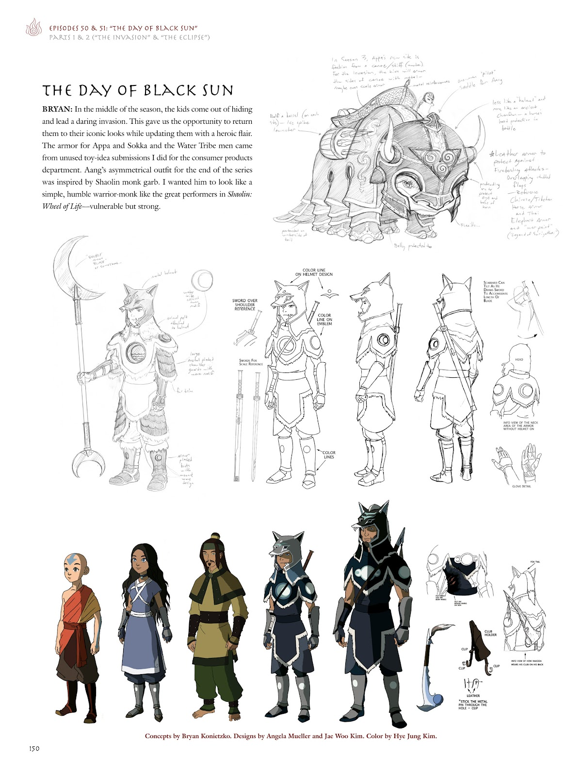 Read online Avatar: The Last Airbender - The Art of the Animated Series comic -  Issue # TPB (Part 2) - 47