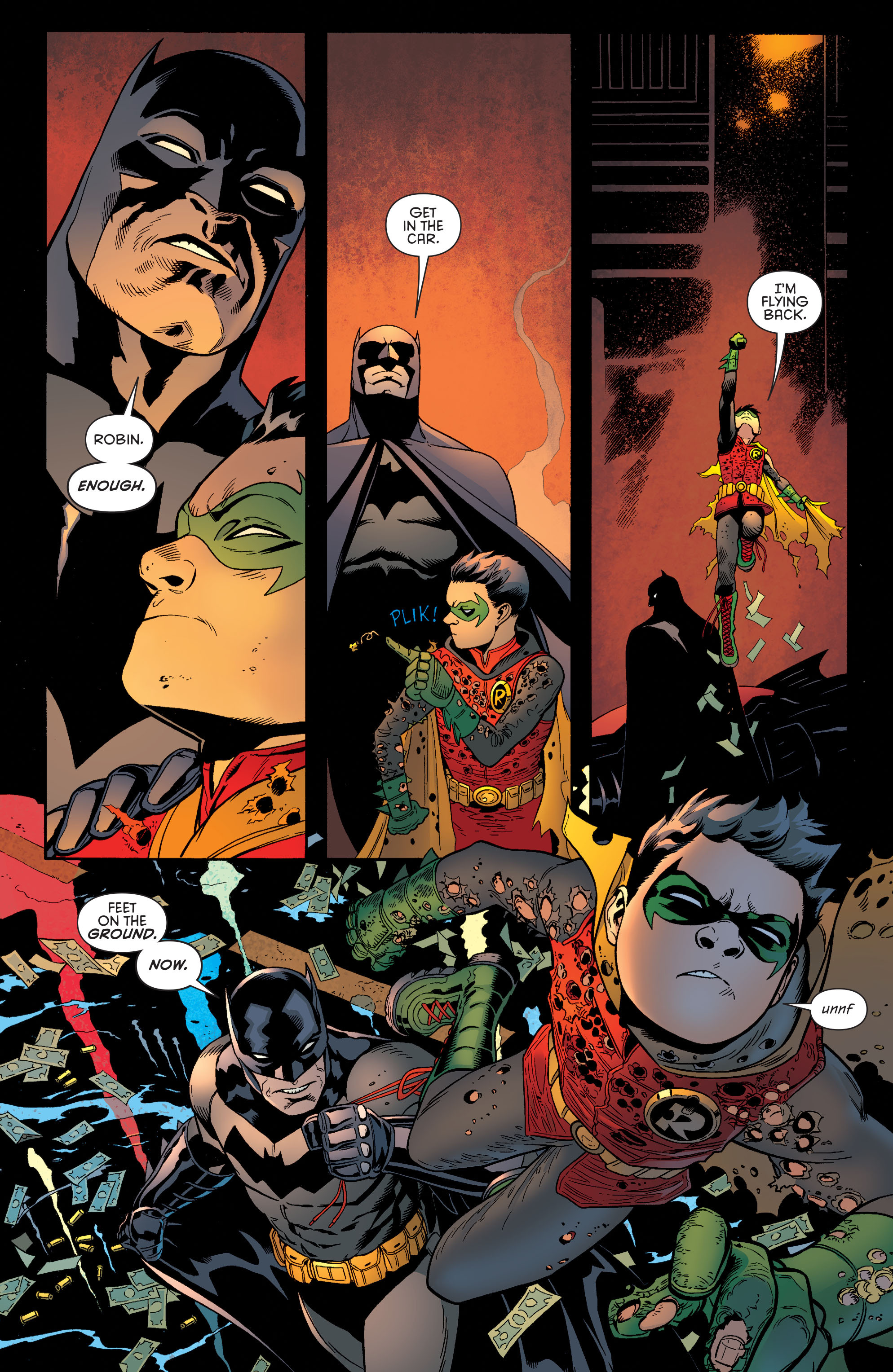 Read online Batman and Robin (2011) comic -  Issue #38 - 7