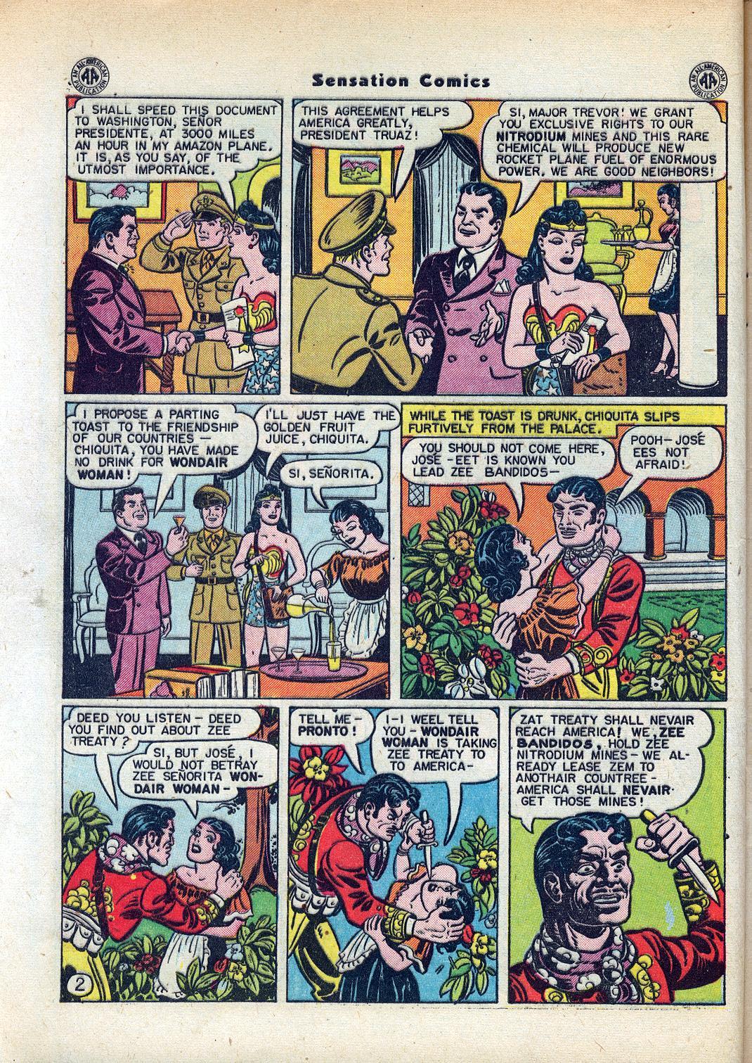 Read online Sensation (Mystery) Comics comic -  Issue #45 - 4