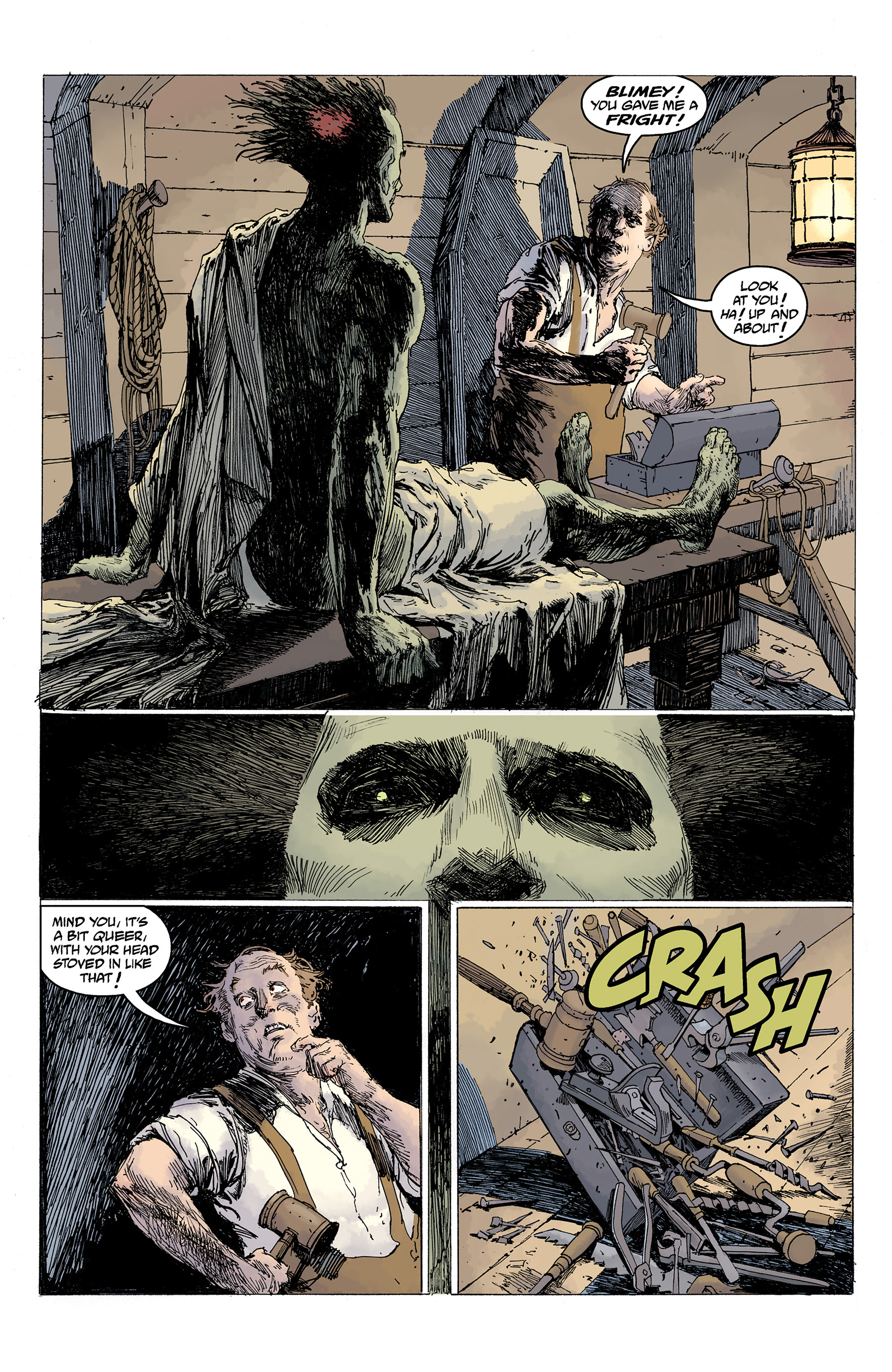 Read online Hellboy: Into the Silent Sea comic -  Issue # Full - 33