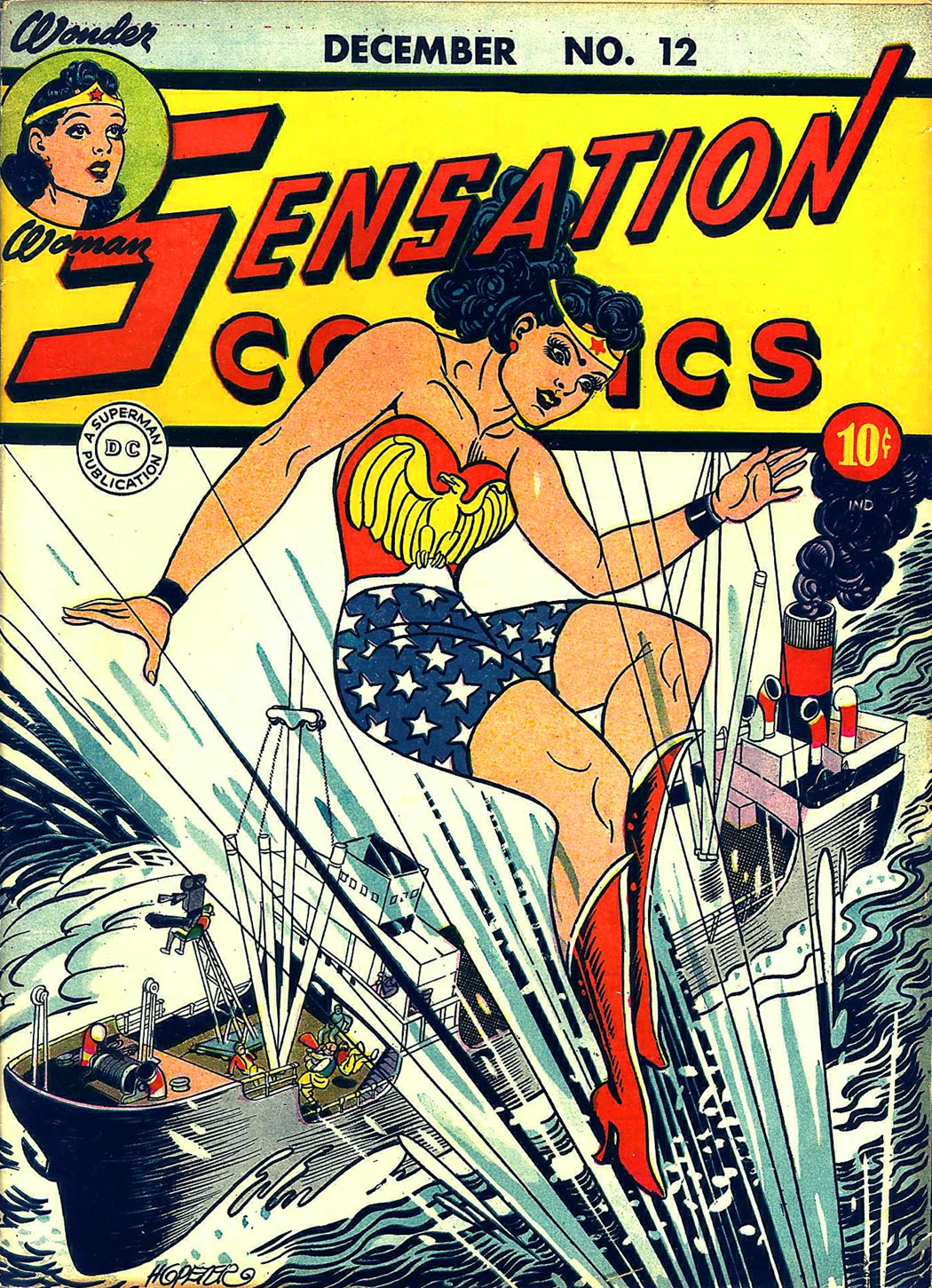 Read online Sensation (Mystery) Comics comic -  Issue #12 - 1