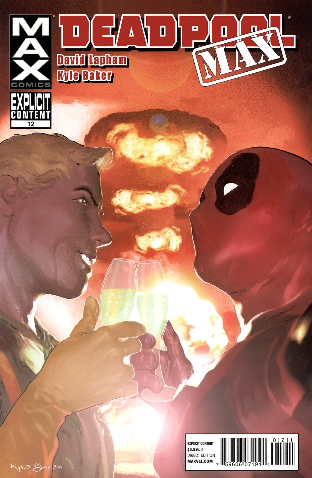 Deadpool MAX issue 12 - Page 1