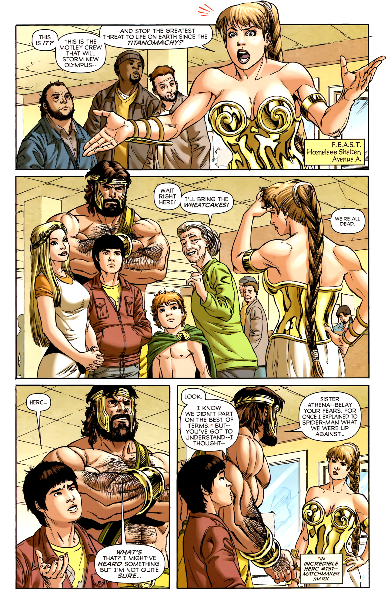 Read online Assault on New Olympus Prologue comic -  Issue #Assault on New Olympus Prologue Full - 32