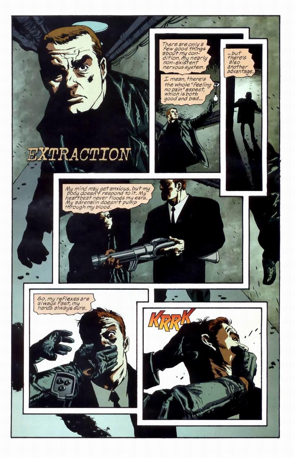 Read online Sleeper comic -  Issue #8 - 3
