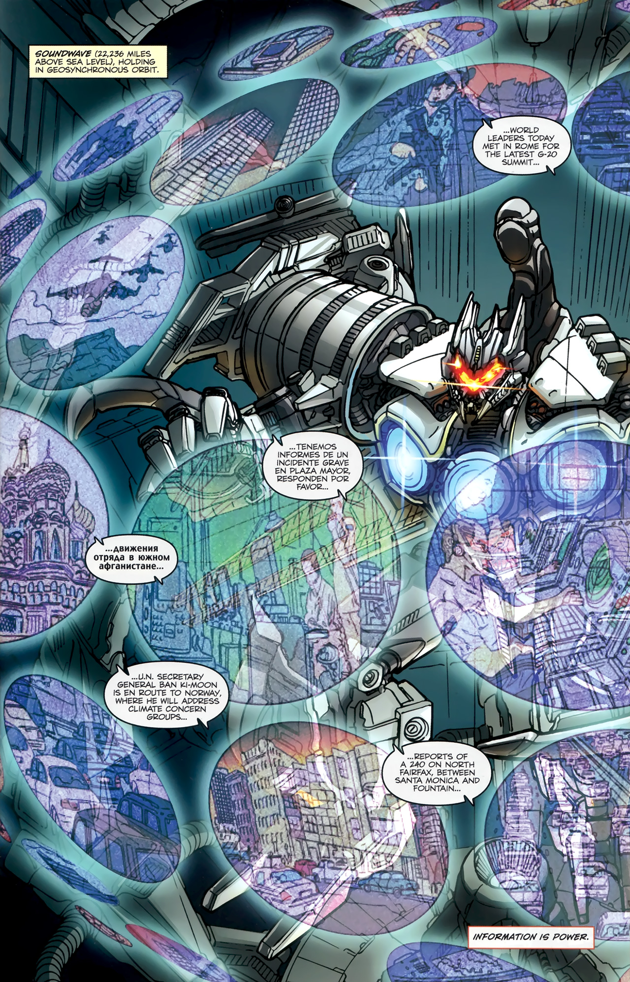 Read online Transformers: Nefarious comic -  Issue #1 - 5