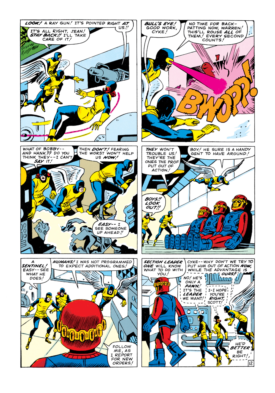 Read online Uncanny X-Men (1963) comic -  Issue #15 - 13