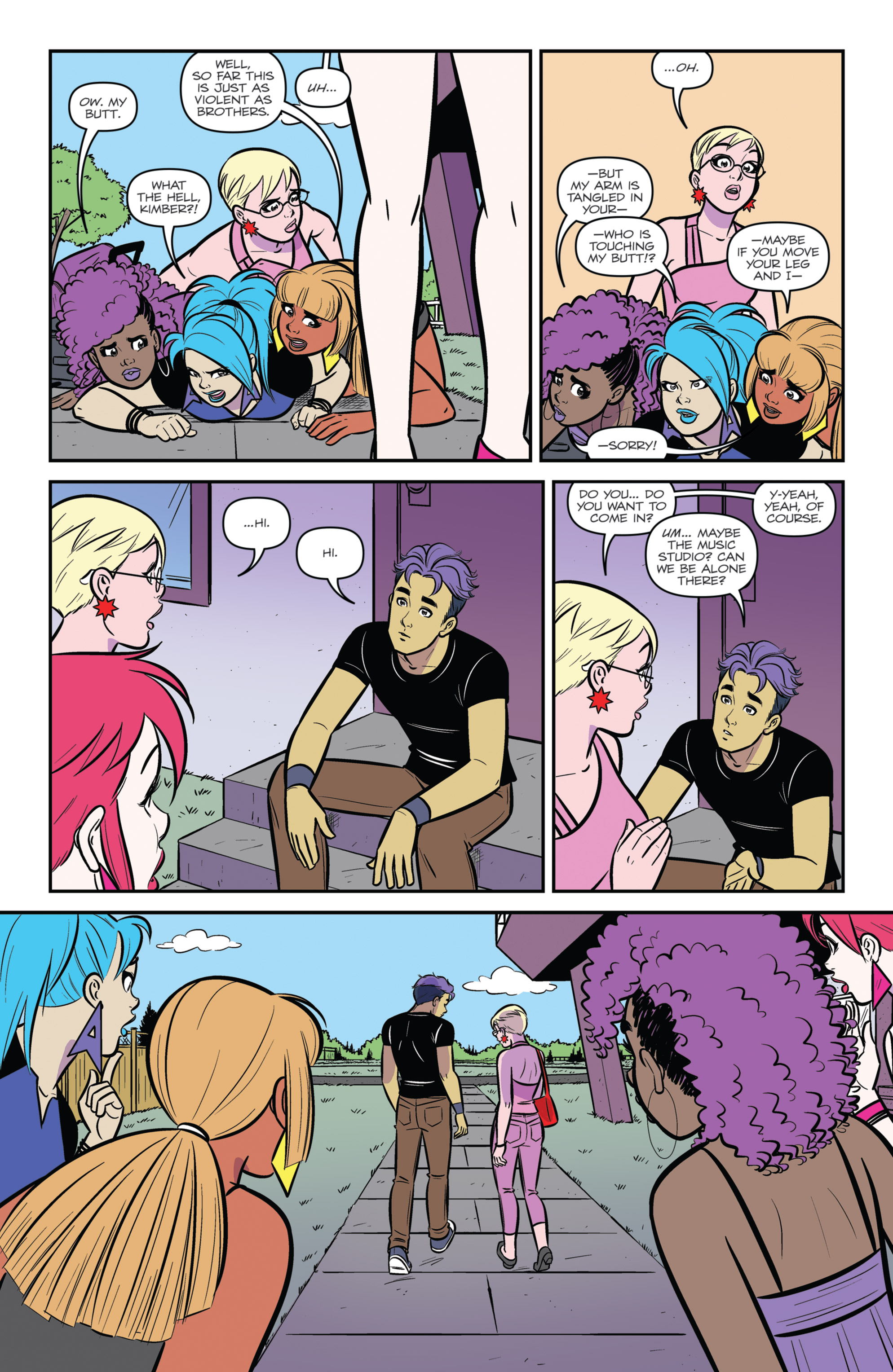 Read online Jem and The Holograms comic -  Issue #26 - 23