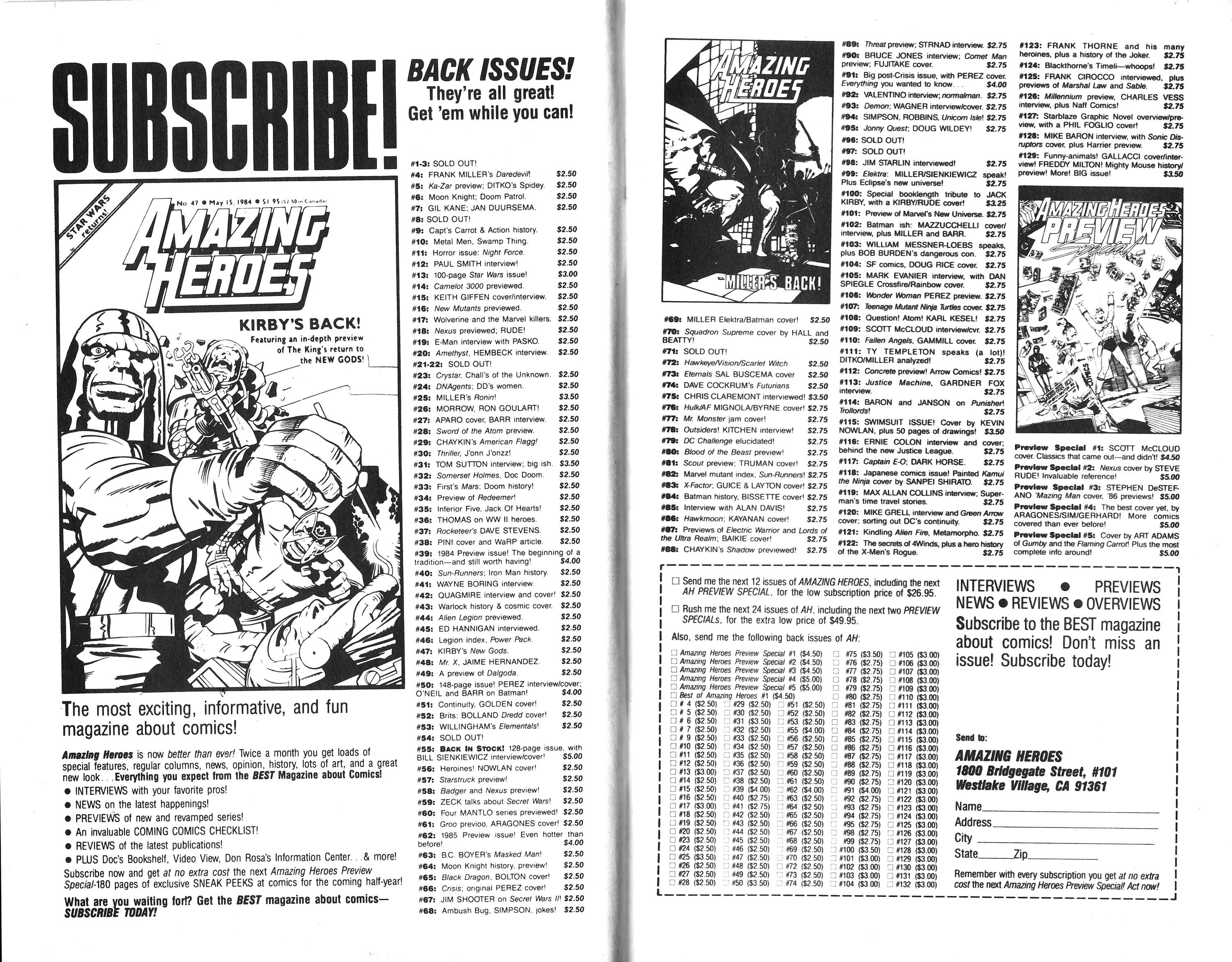 Read online Amazing Heroes comic -  Issue #136 - 14