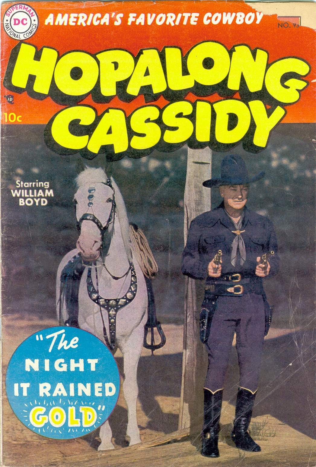 Hopalong Cassidy issue 98 - Page 1